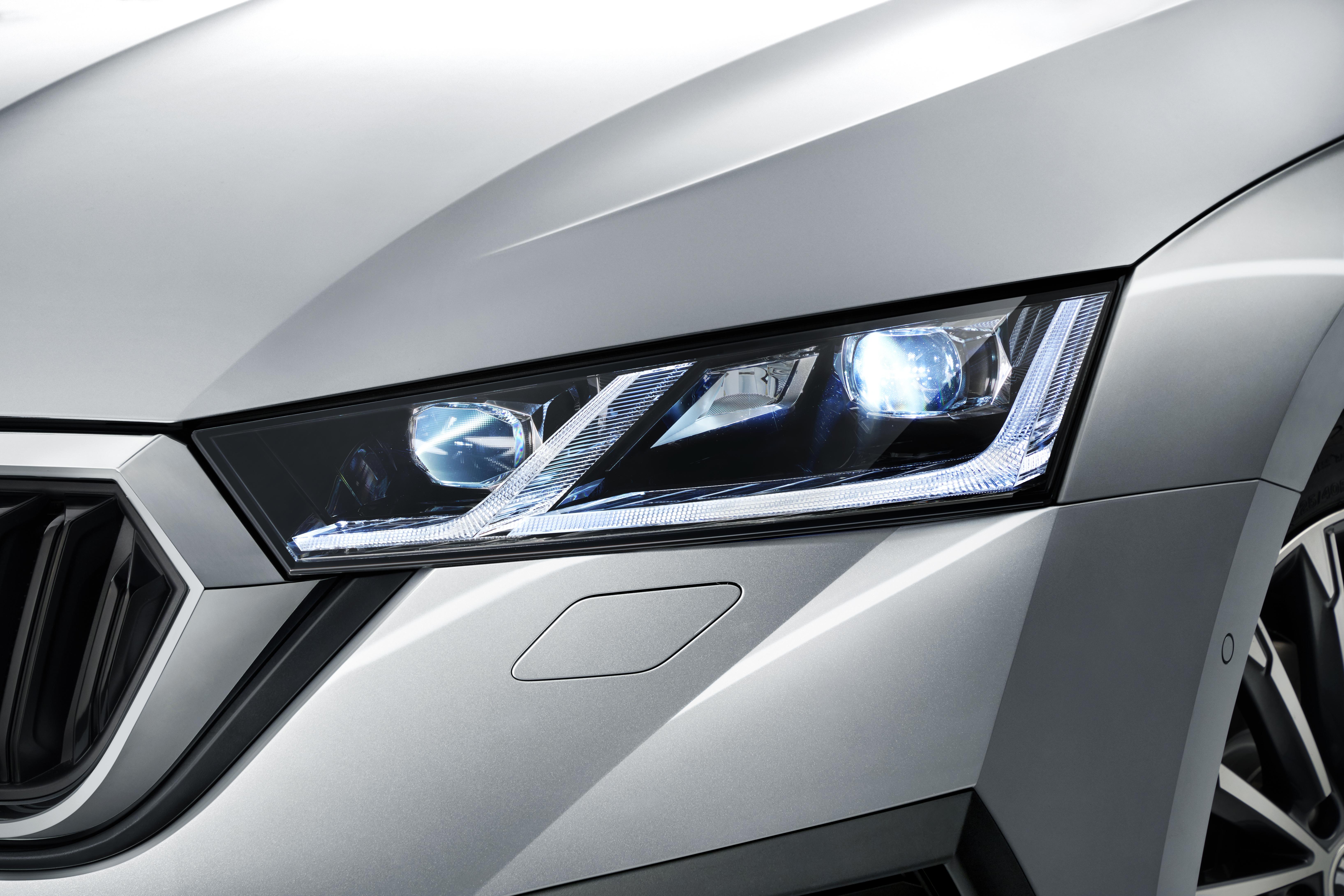 Innovative Lighting Technology For Maximum Safety Skoda