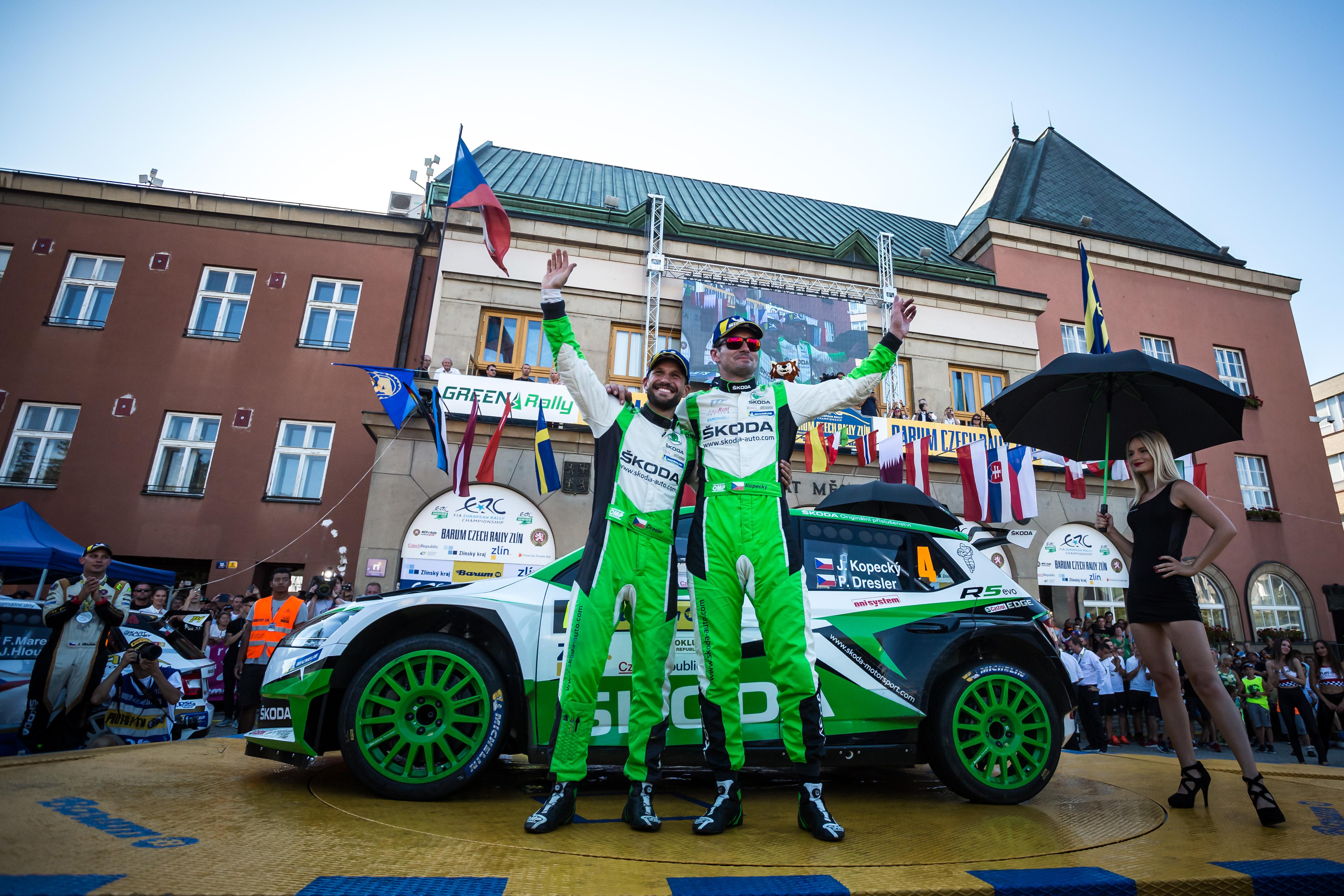 Barum Czech Rallye Zlín 2019