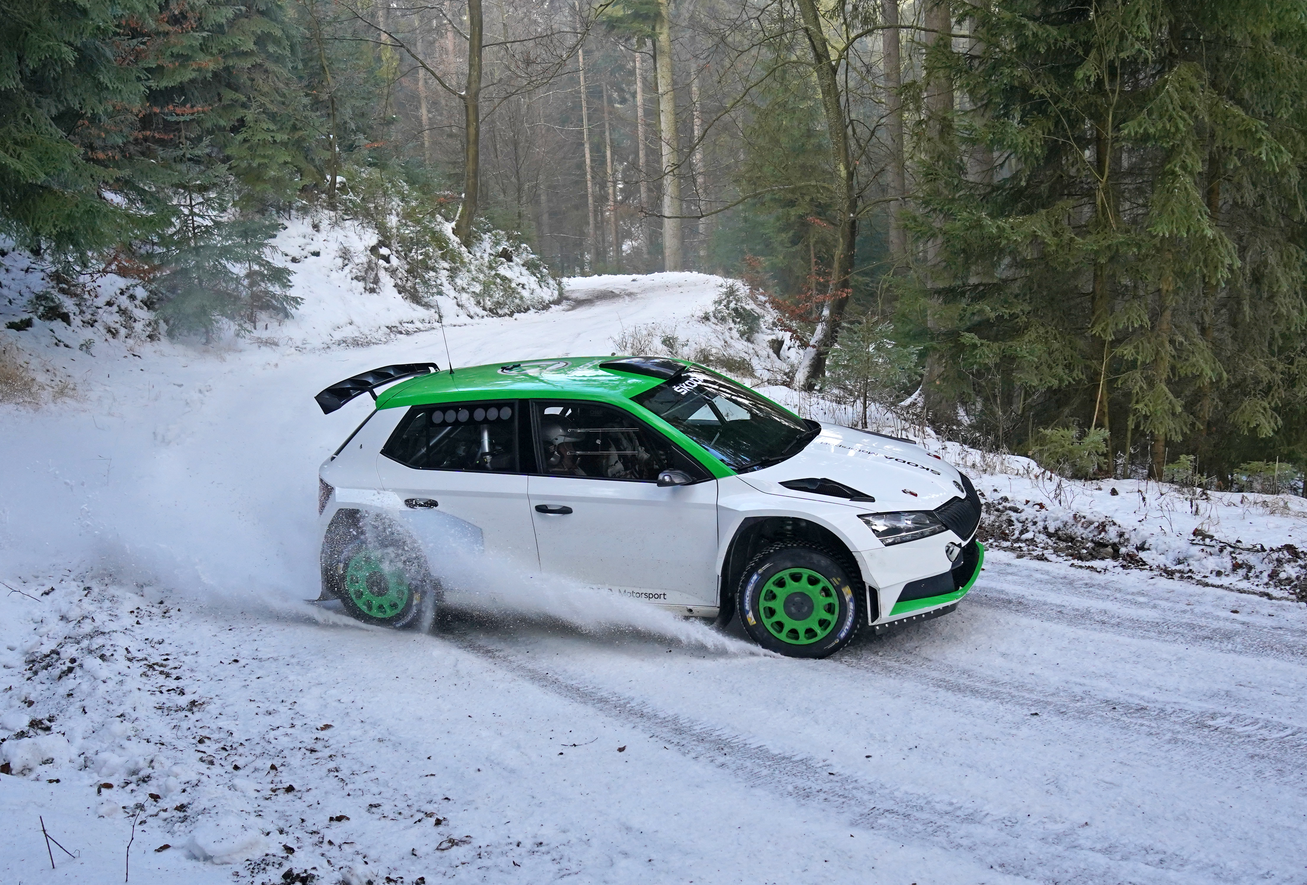 SKODA Motorsport cooperates with Oliver Solberg in WRC3 category of FIA World Rally Championship - Image 2
