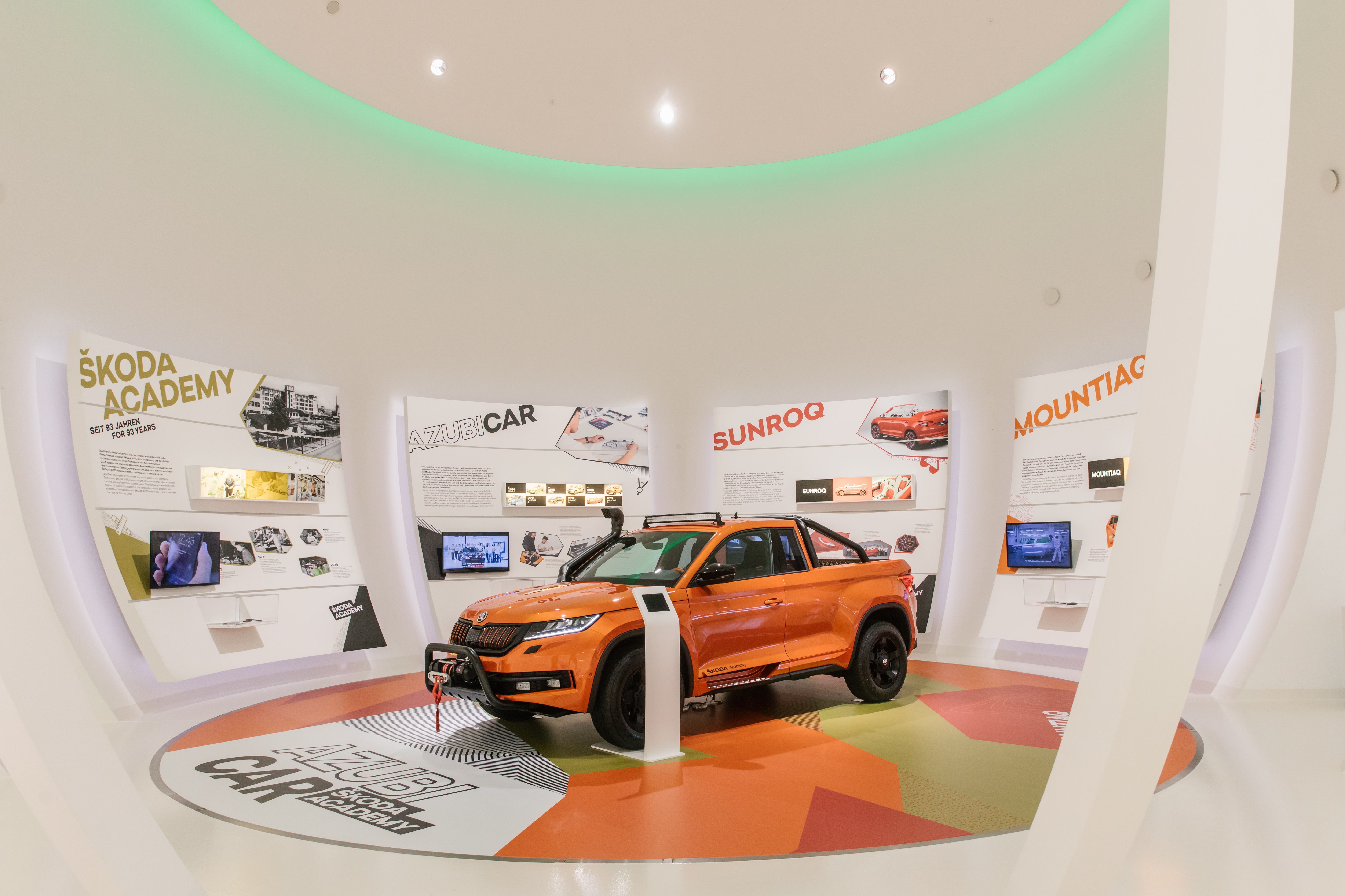 SKODA AUTO showing two apprentice cars for first time at Autostadt in Wolfsburg - Image 3