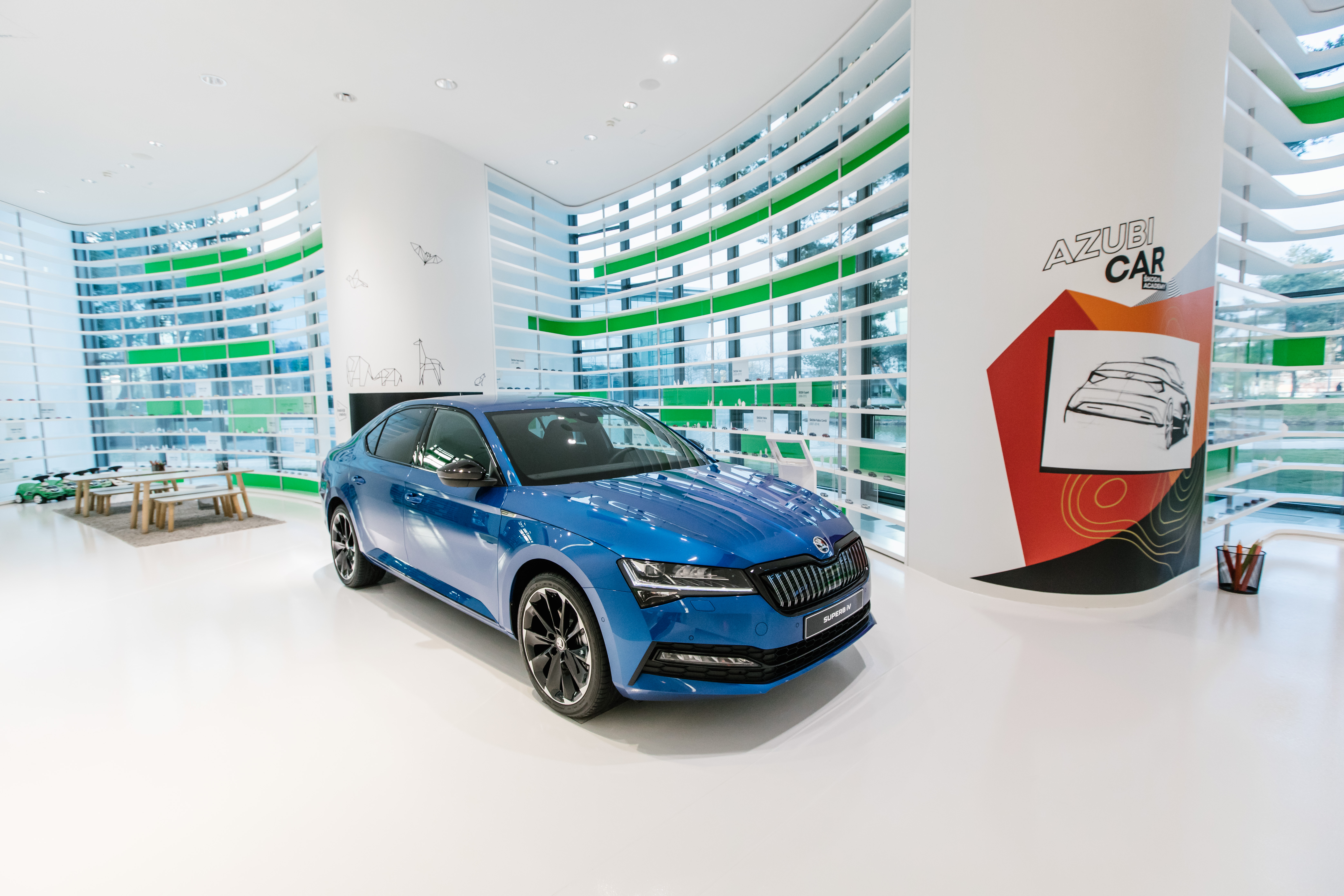 SKODA AUTO showing two apprentice cars for first time at Autostadt in Wolfsburg - Image 2