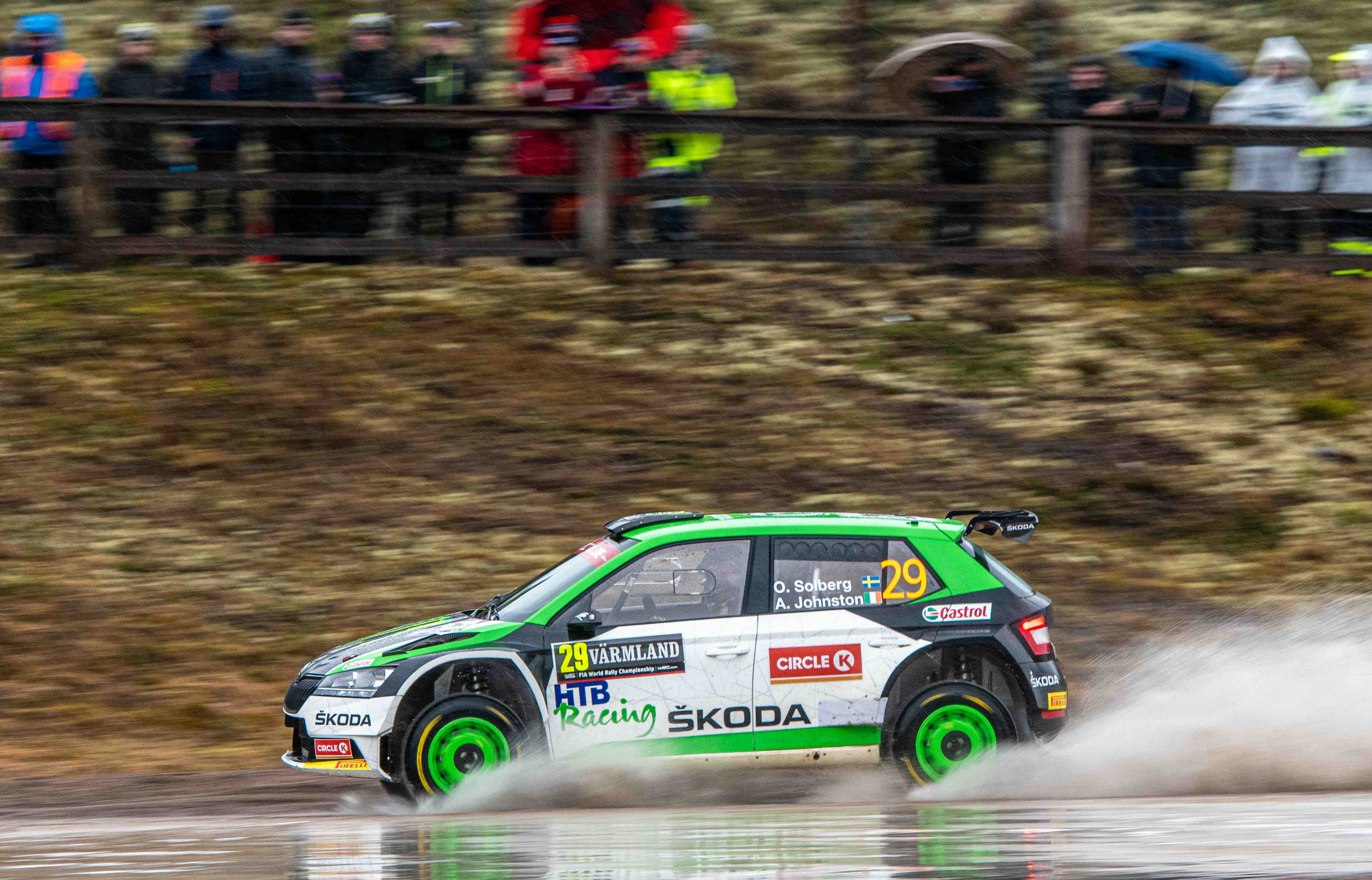 Rally Sweden/WRC3: SKODA privateers Emil Lindholm and Oliver Solberg finish second and fifth - Image 1