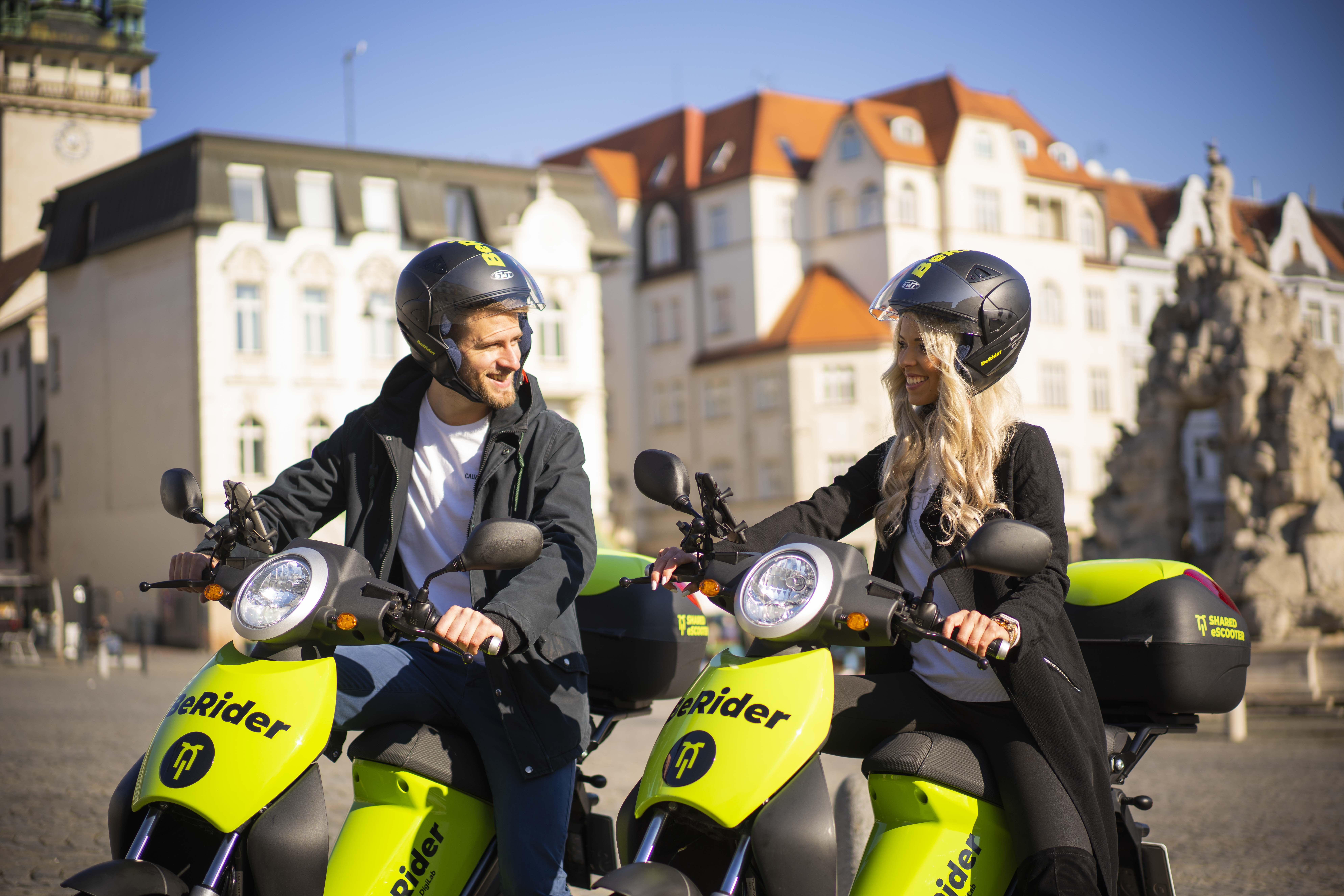 SKODA AUTO DigiLab brings BeRider e-scooter sharing to Brno - Image 3