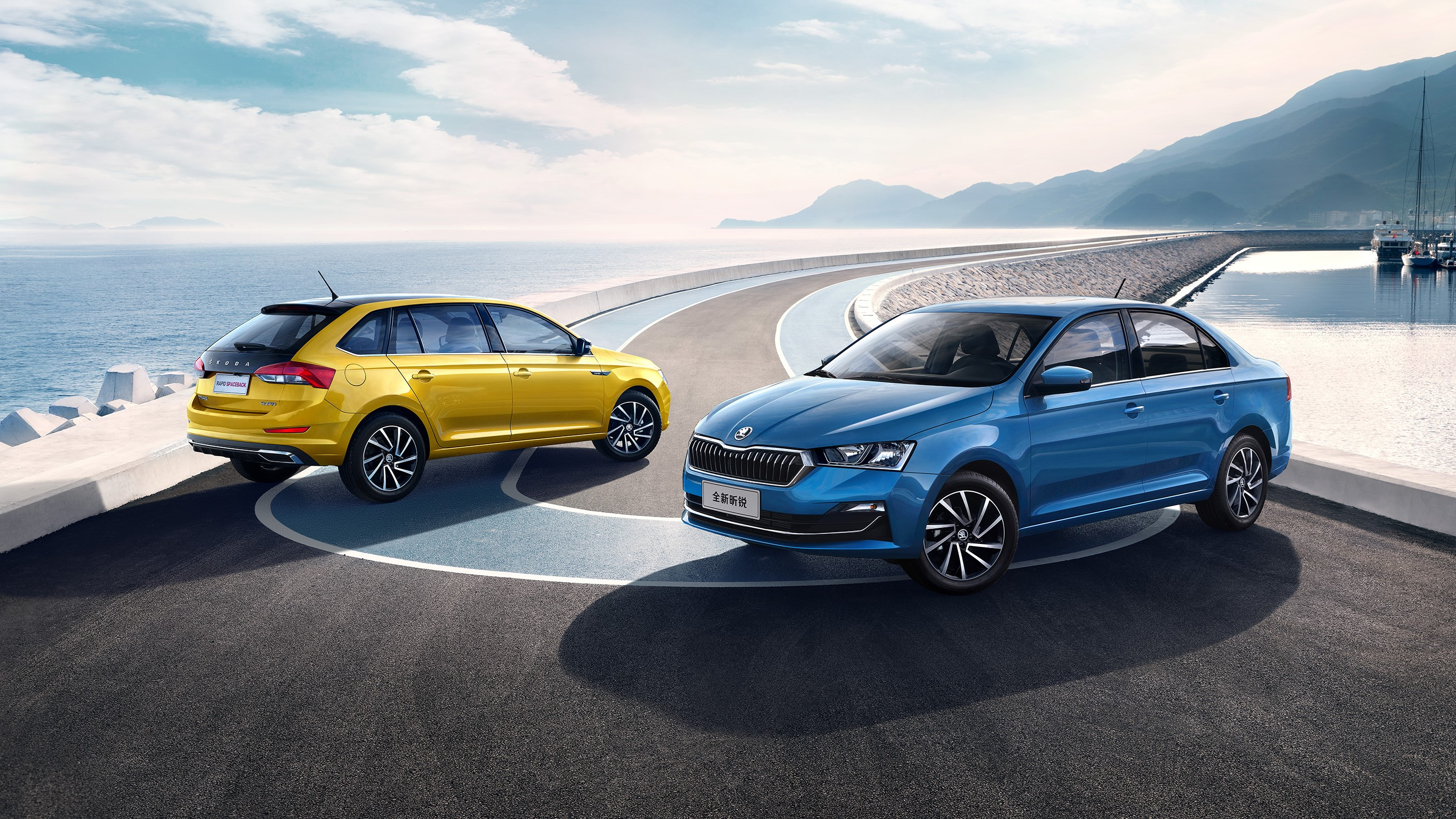 Youthful and dynamic look for the new SKODA RAPID and RAPID SPACEBACK in China - Image 4