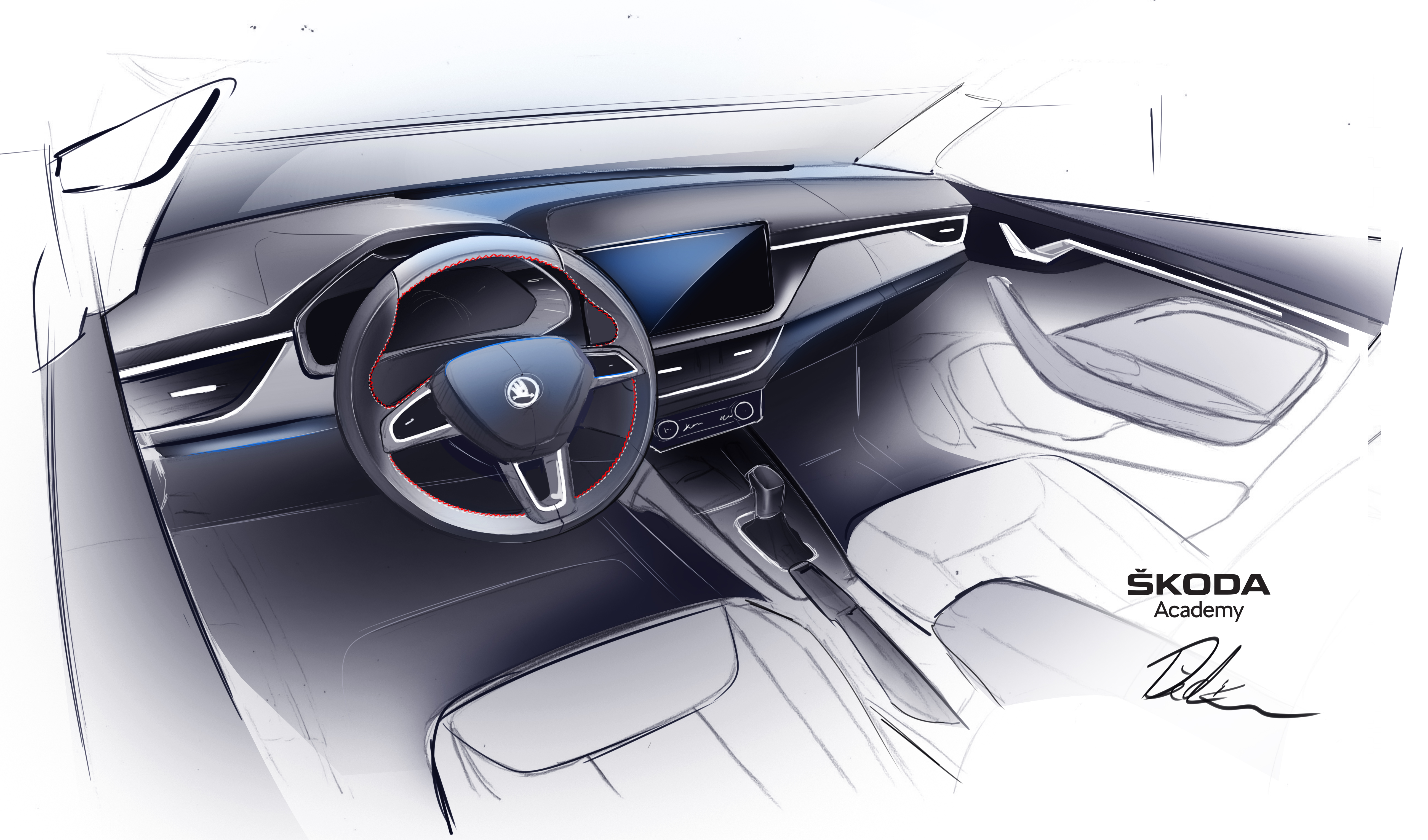 Seventh SKODA Student Concept Car is taking shape: Students are working on a Spider variant of the SKODA SCALA - Image 5