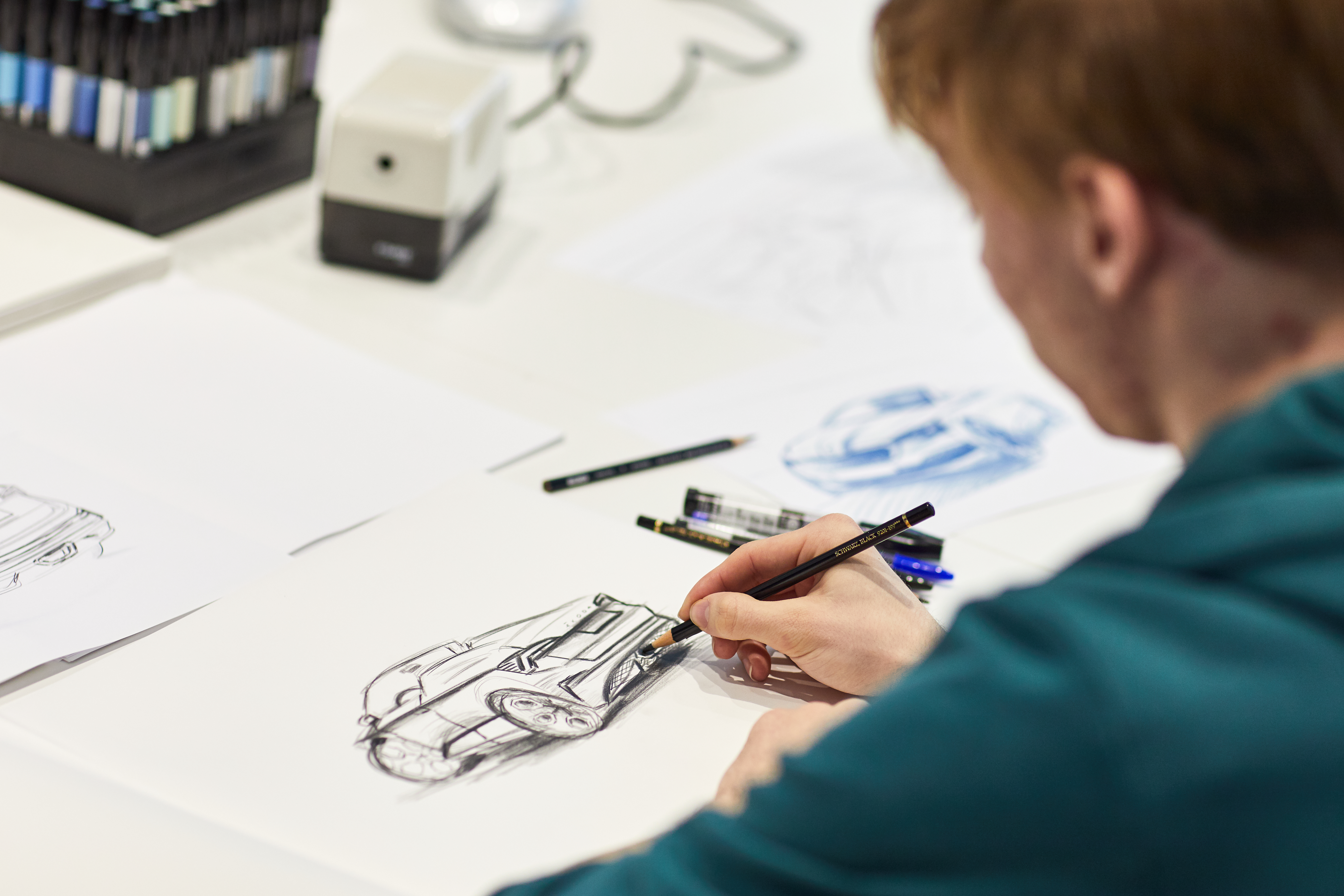 Seventh SKODA Student Concept Car is taking shape: Students are working on a Spider variant of the SKODA SCALA - Image 3
