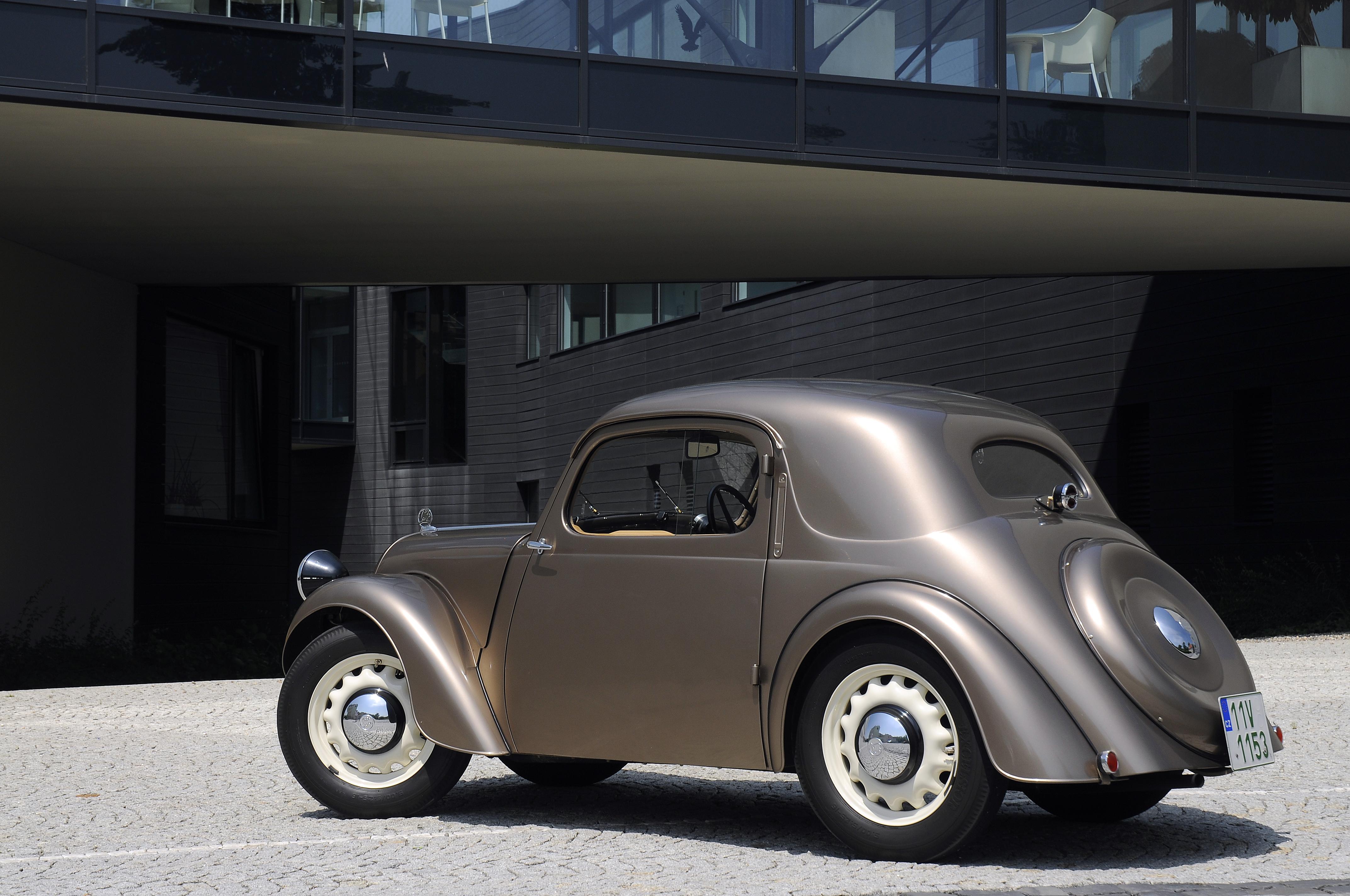 Lesser-known models from SKODA AUTO's 125-year history: The SKODA SAGITTA - Image 2