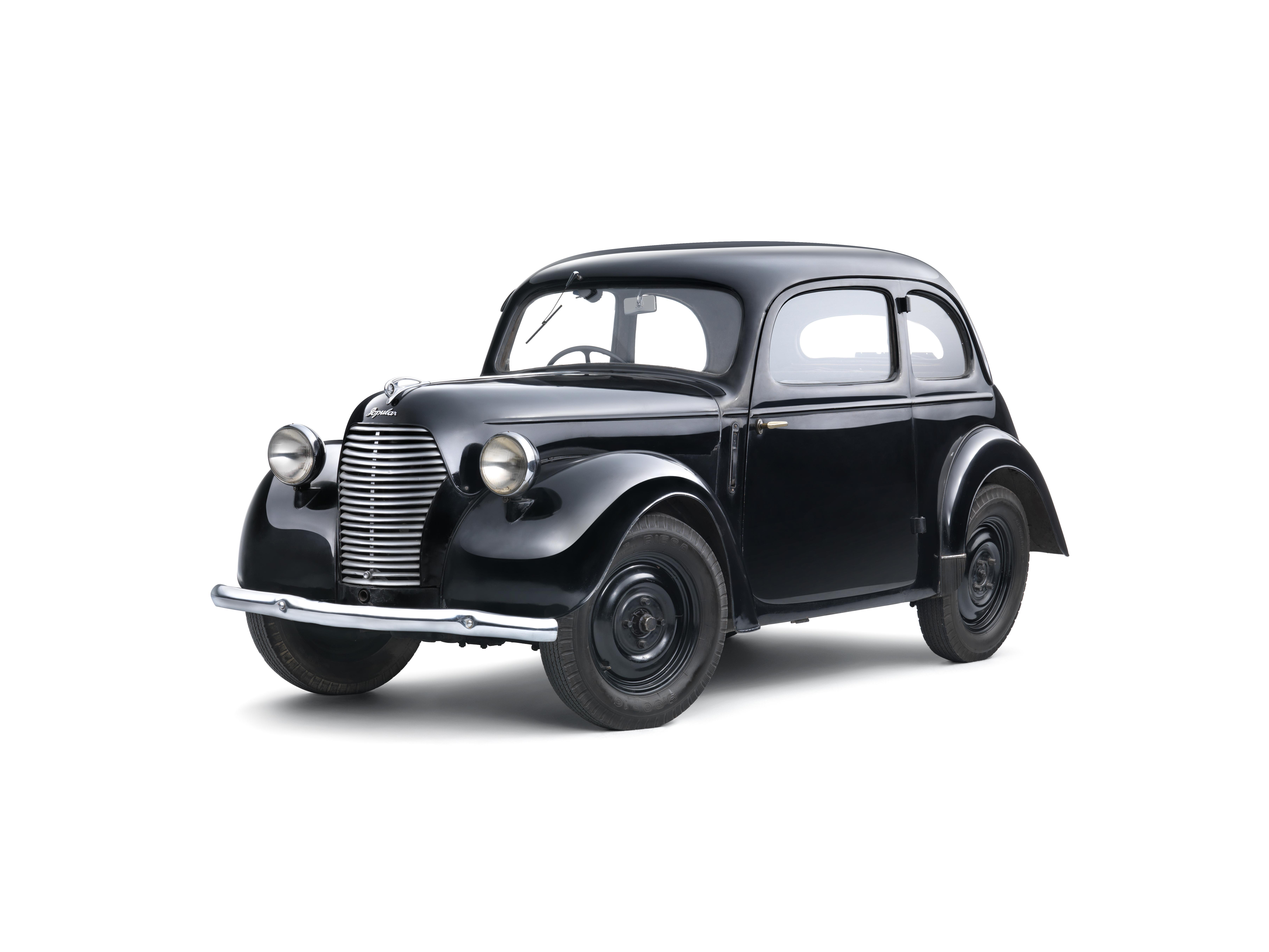 Lesser-known models from SKODA AUTO's 125-year history: The SKODA SAGITTA - Image 1
