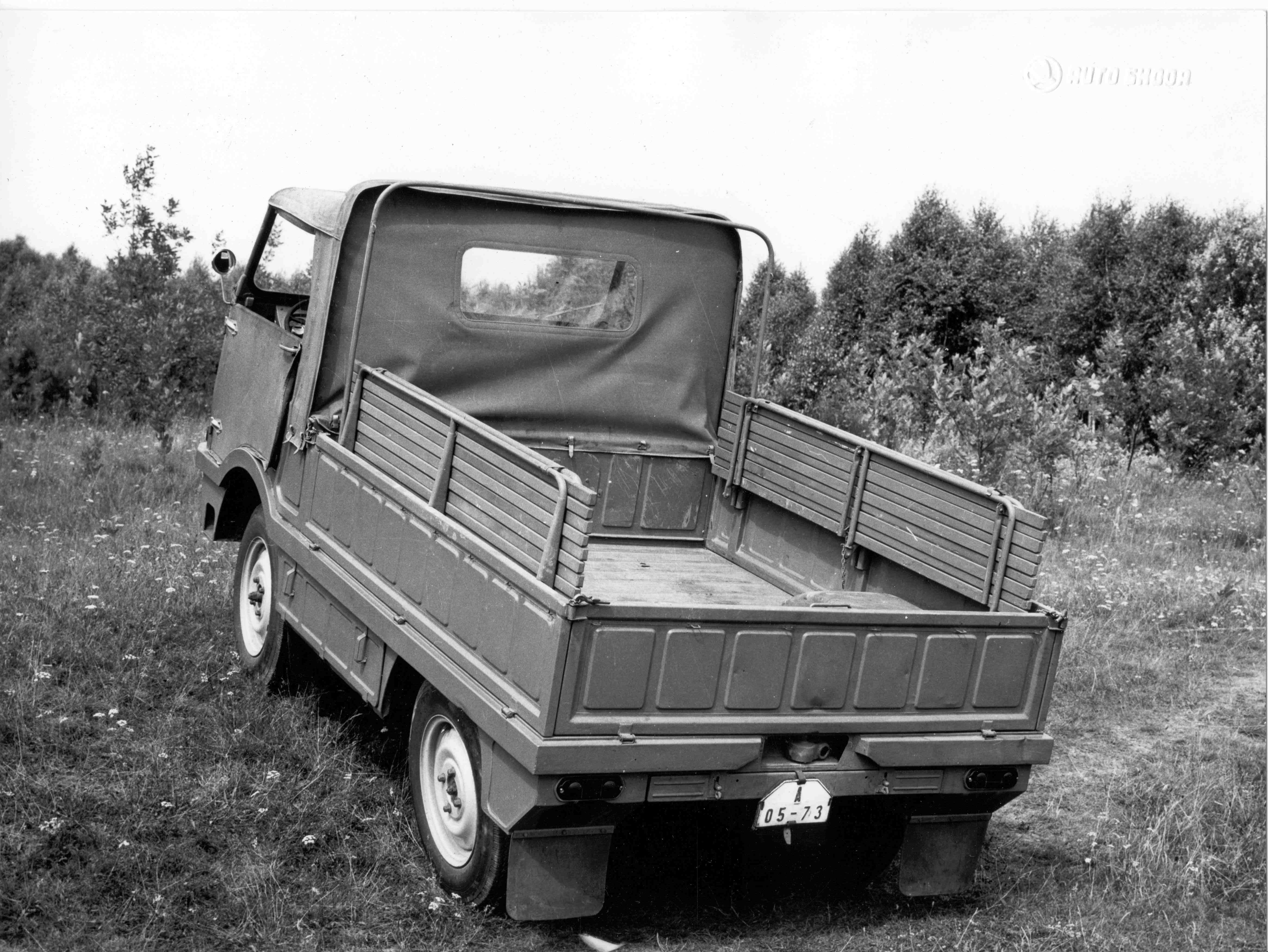 Lesser-known models from SKODA AUTO's 125-year history: Type 998 'Agromobil' from 1962 - Image 4