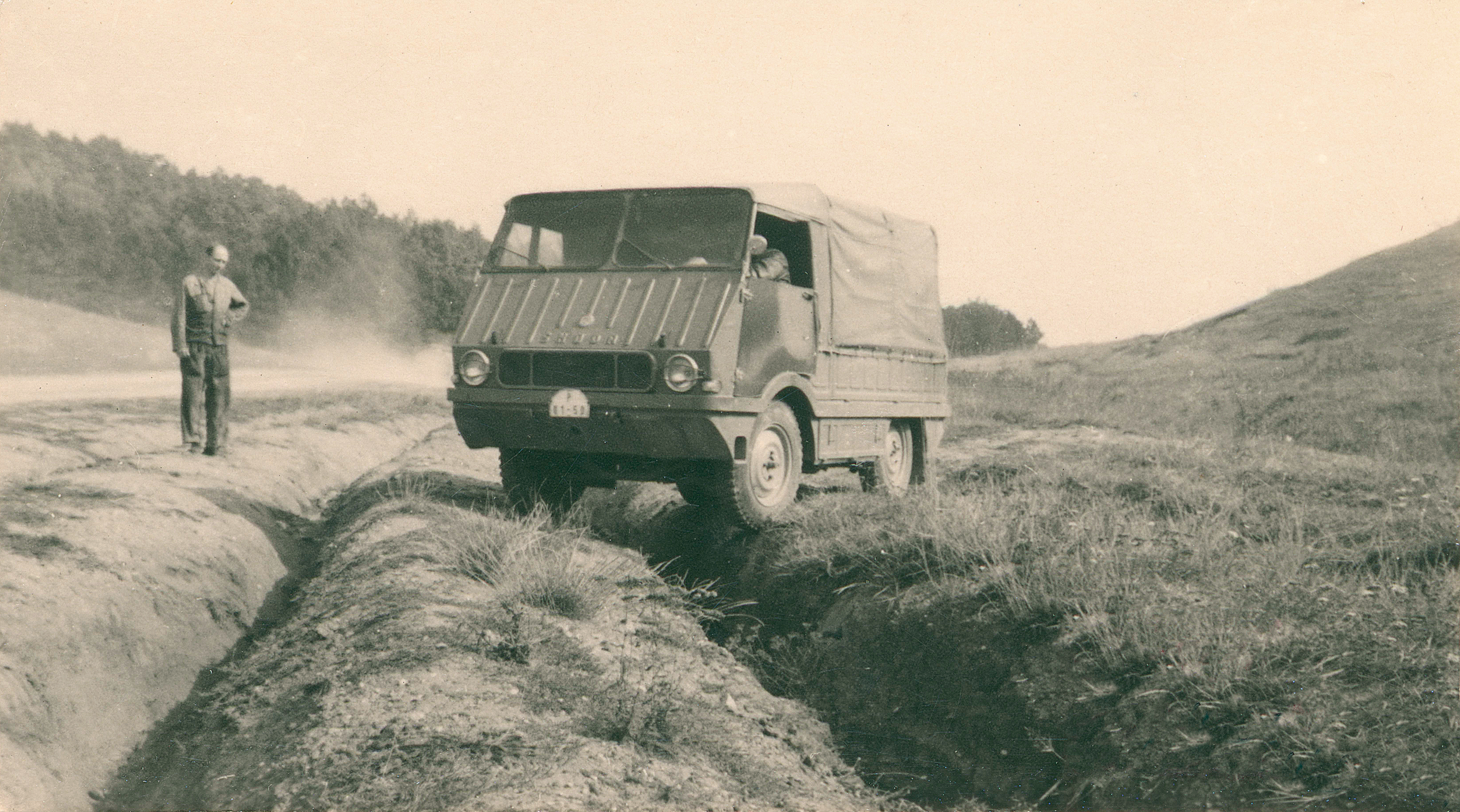 Lesser-known models from SKODA AUTO's 125-year history: Type 998 'Agromobil' from 1962 - Image 7