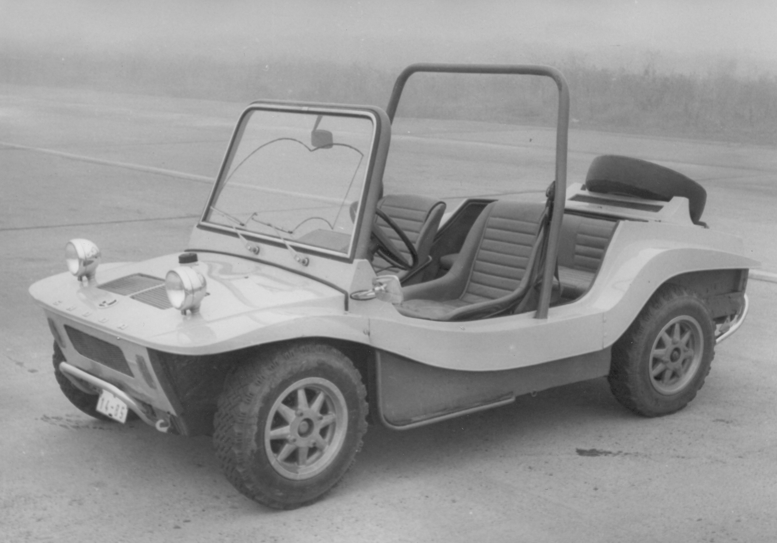 Lesser-known models from ŠKODA AUTO's 125-year history: The ŠKODA BUGGY Type 736