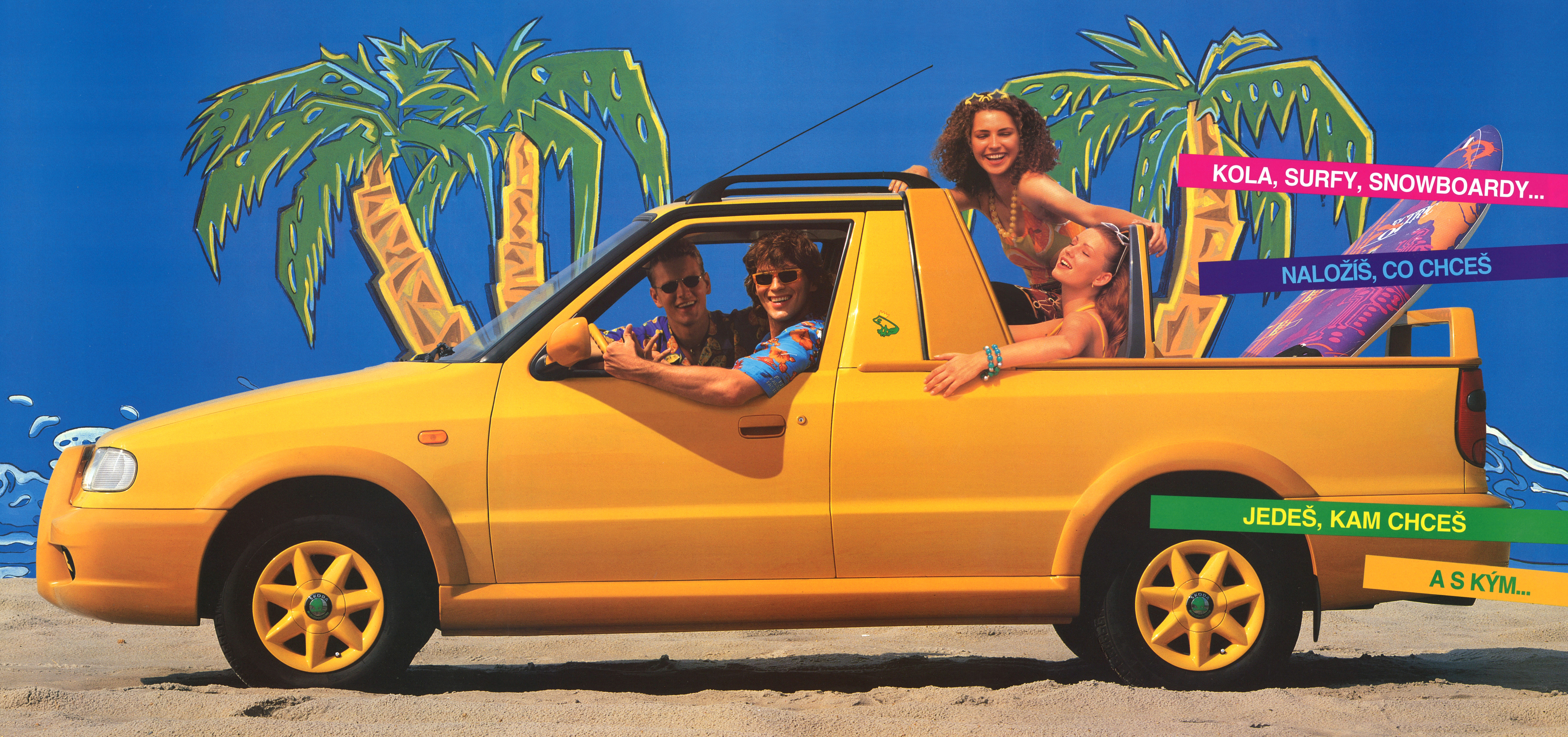 Lesser-known models from SKODA AUTO's 125-year history: The SKODA FELICIA Fun - Image 3