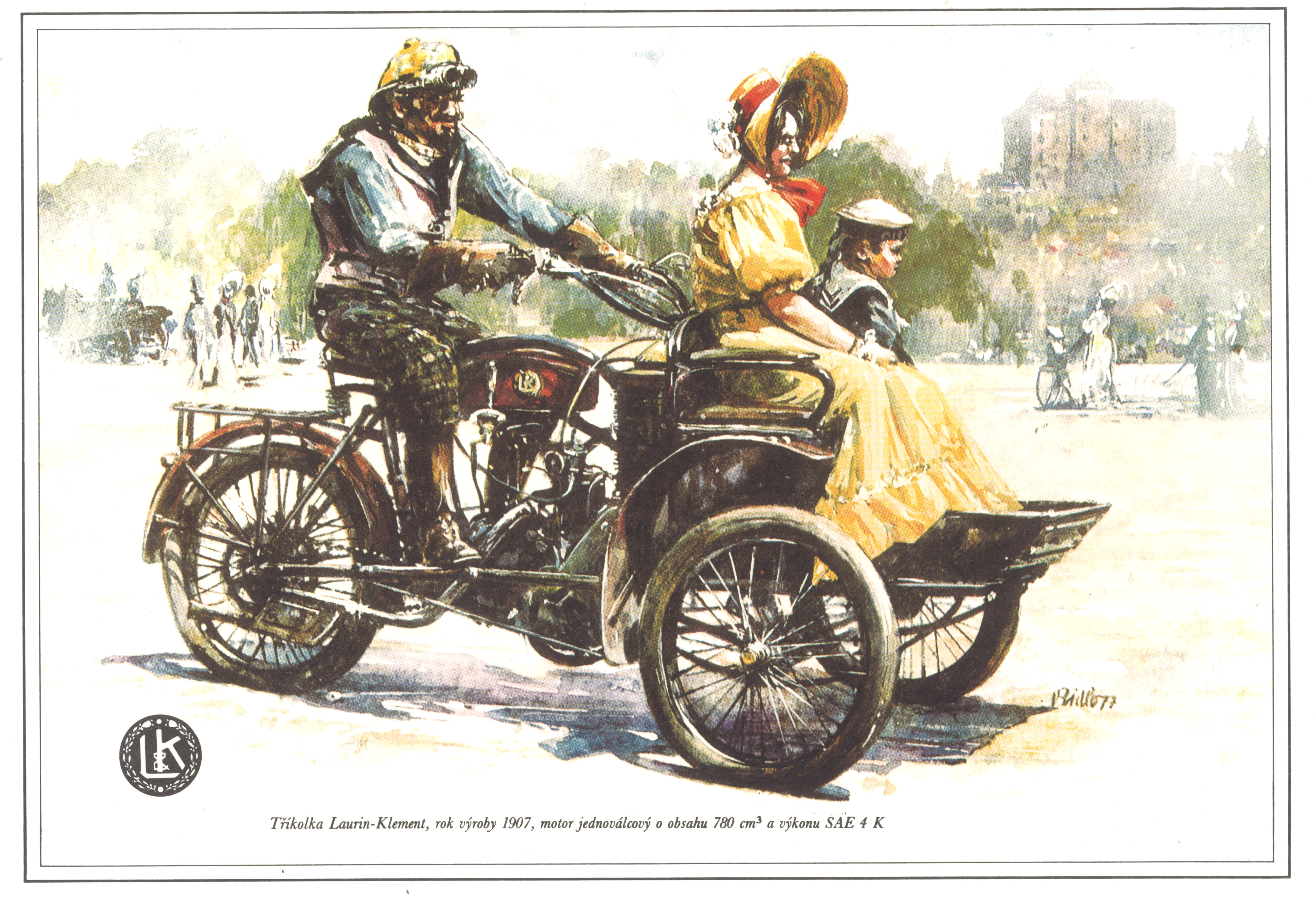 Lesser-known models from SKODA AUTO's 125-year history: The LW three-wheeler from Laurin & Klement - Image 3