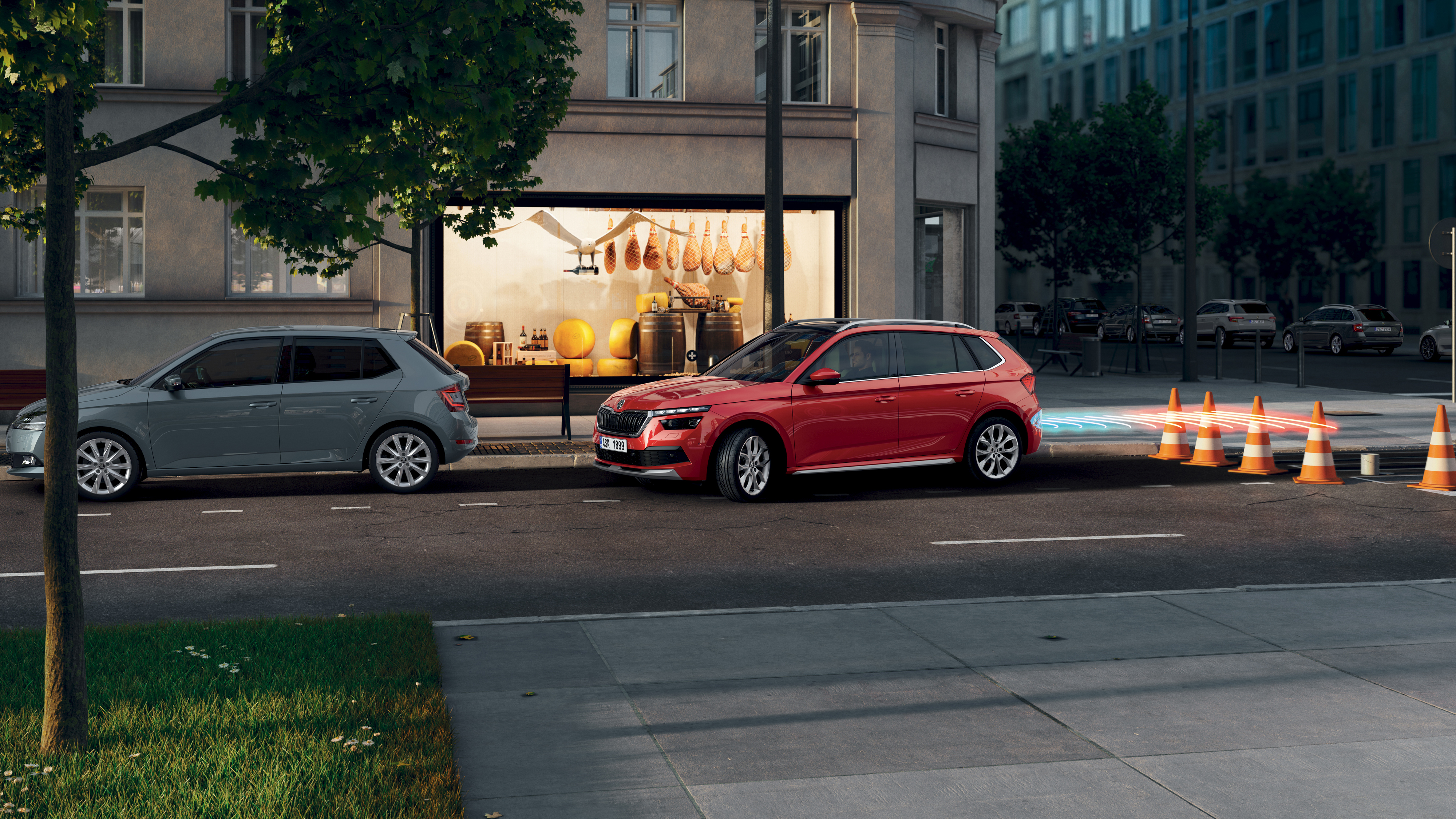 SKODA assistants actively support, warn and protect - Image 1