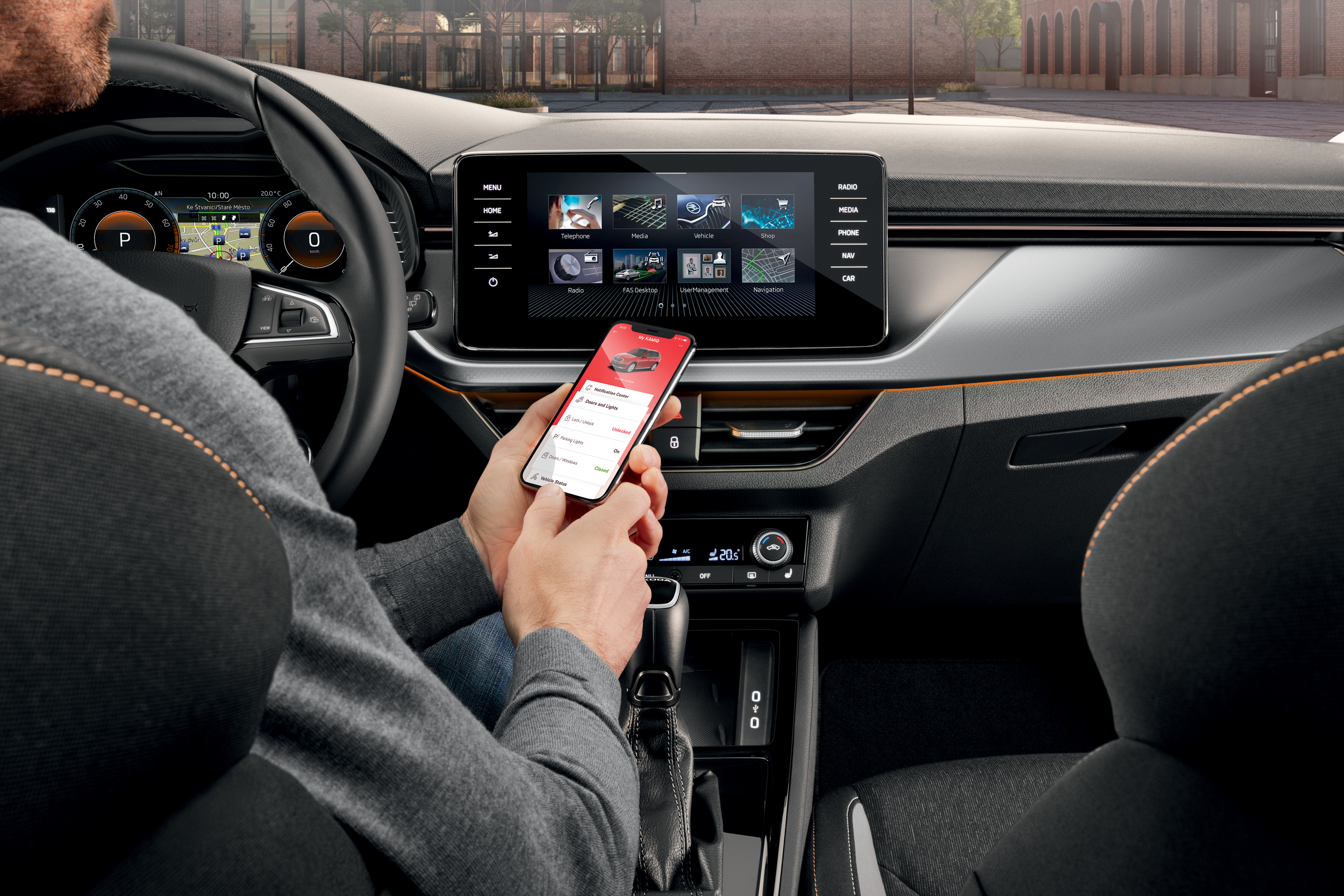 Two become one: SKODA Connect – all the key data in a single app - Image 1