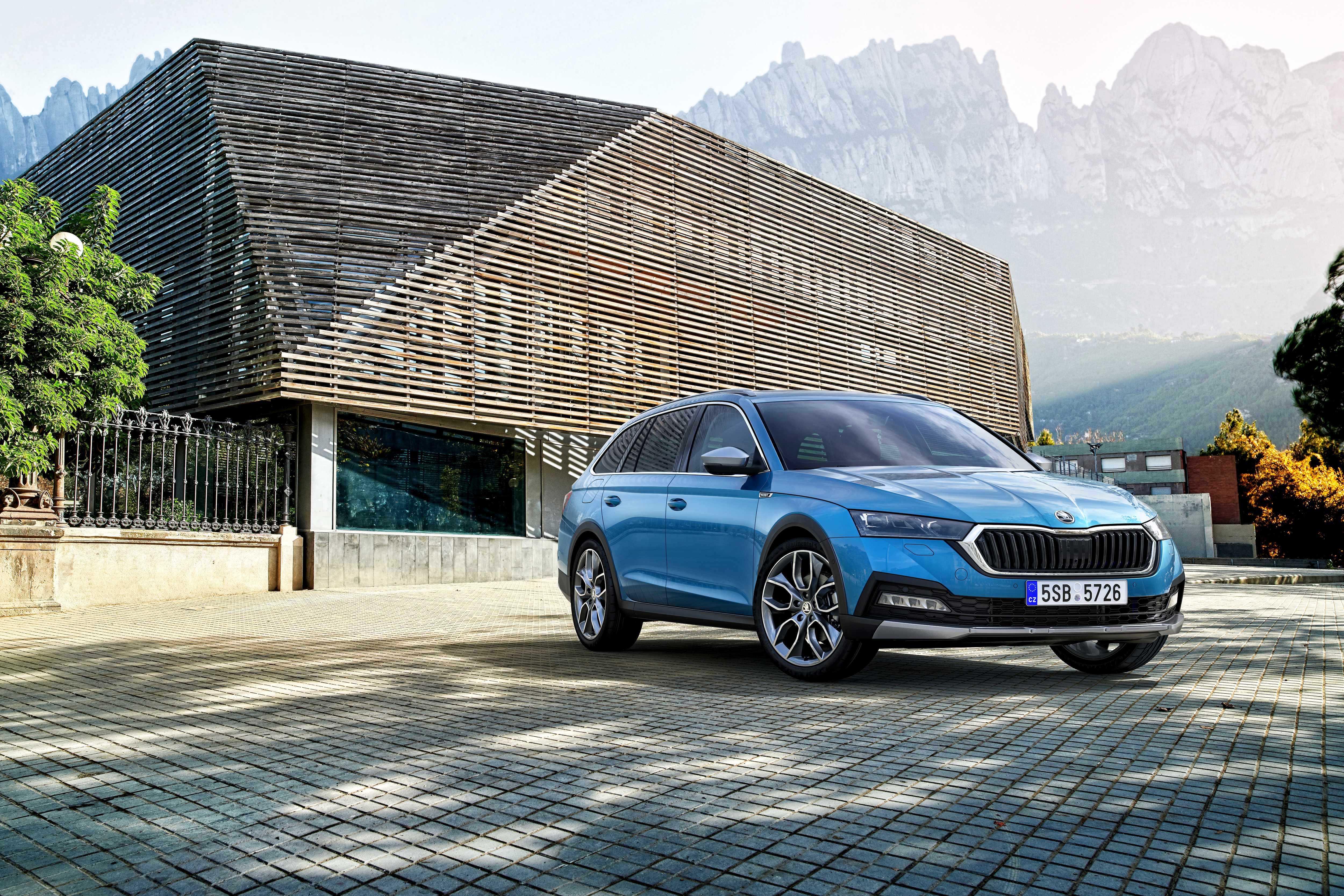 Lifestyle estate in its 3rd generation: The new SKODA OCTAVIA SCOUT - Image 5