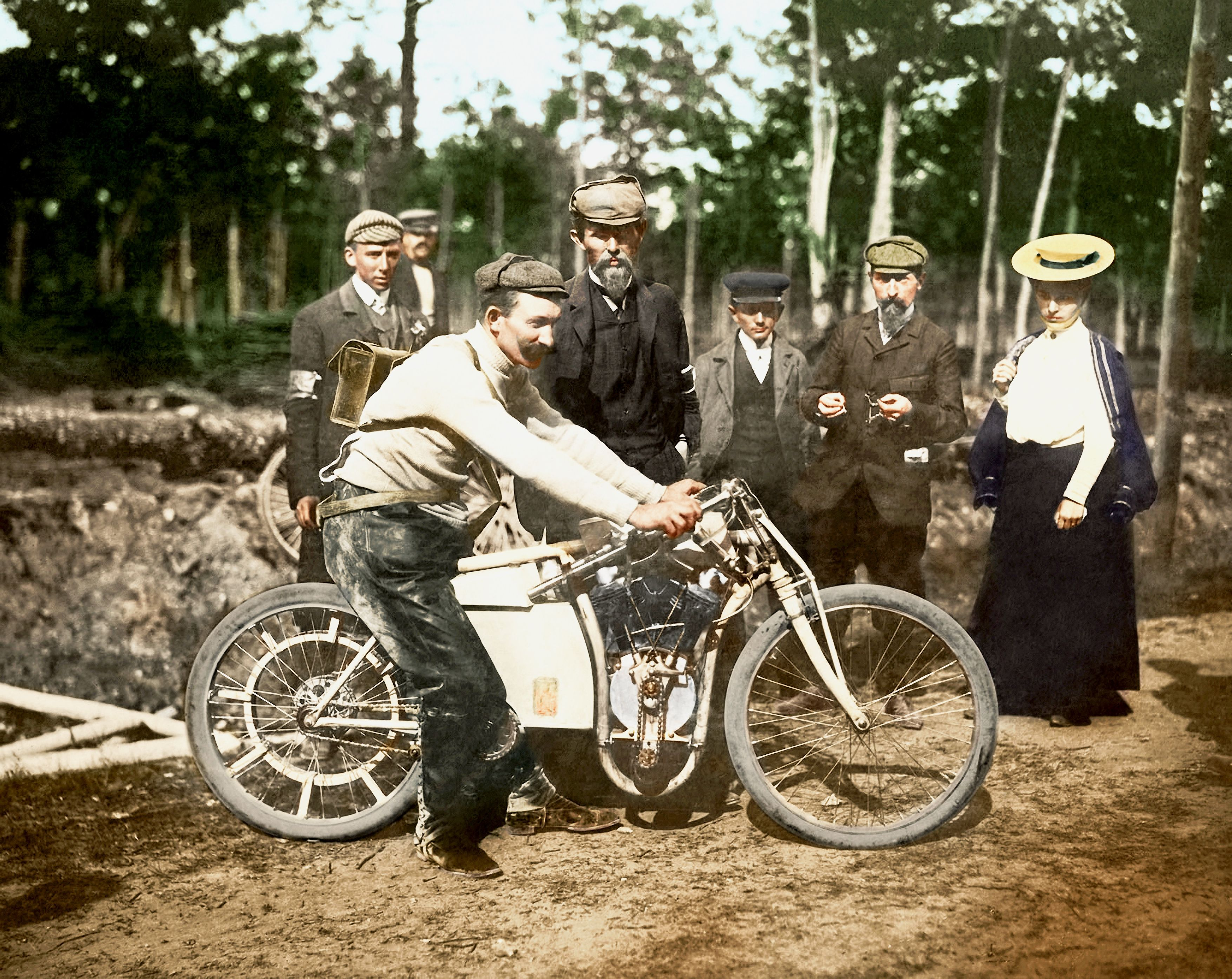 The triumph at Dourdan: Laurin & Klement won the motorcycle world championship 115 years ago - Image 2