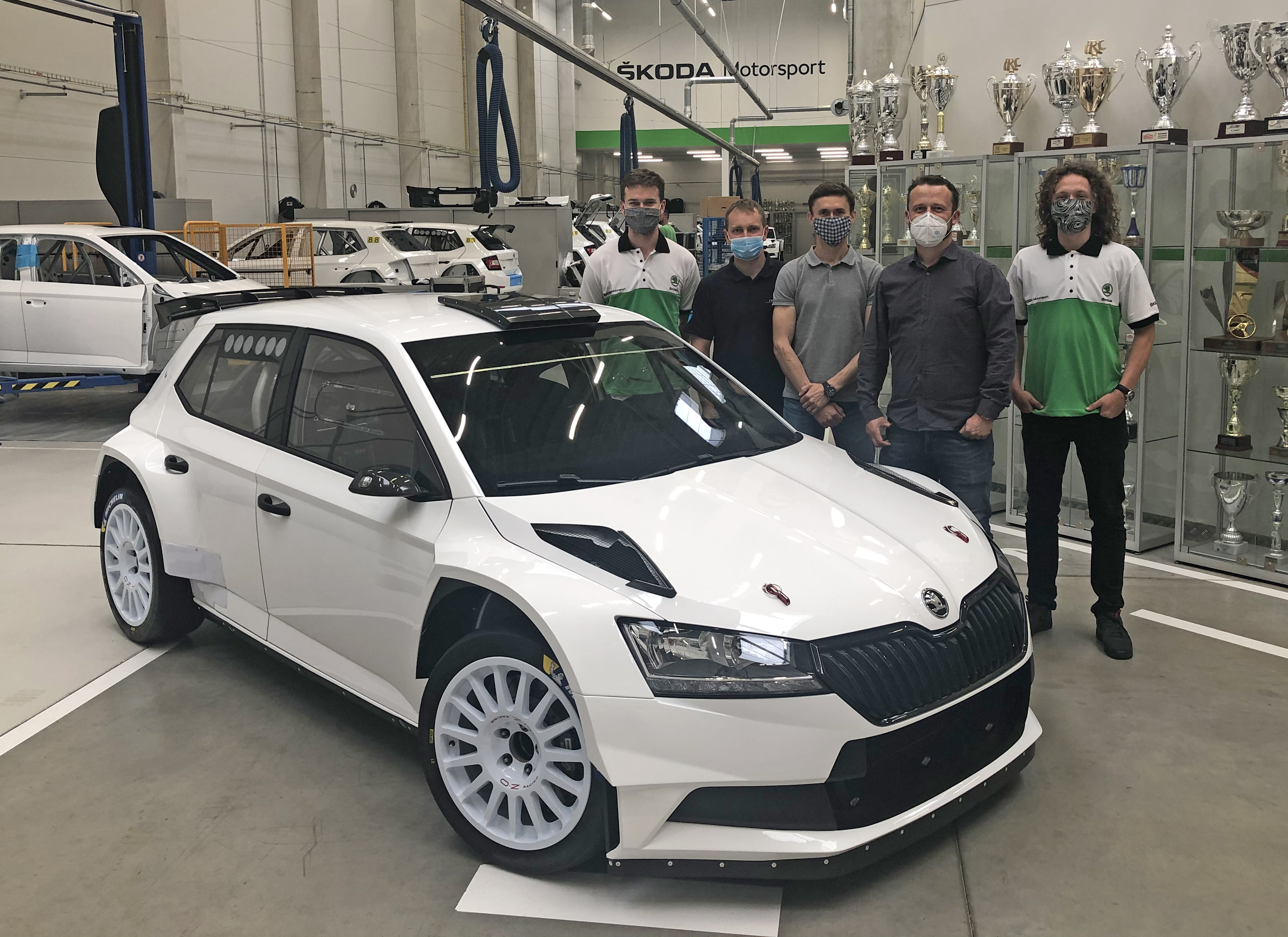 SKODA Motorsport operates again at full swing - Image 1