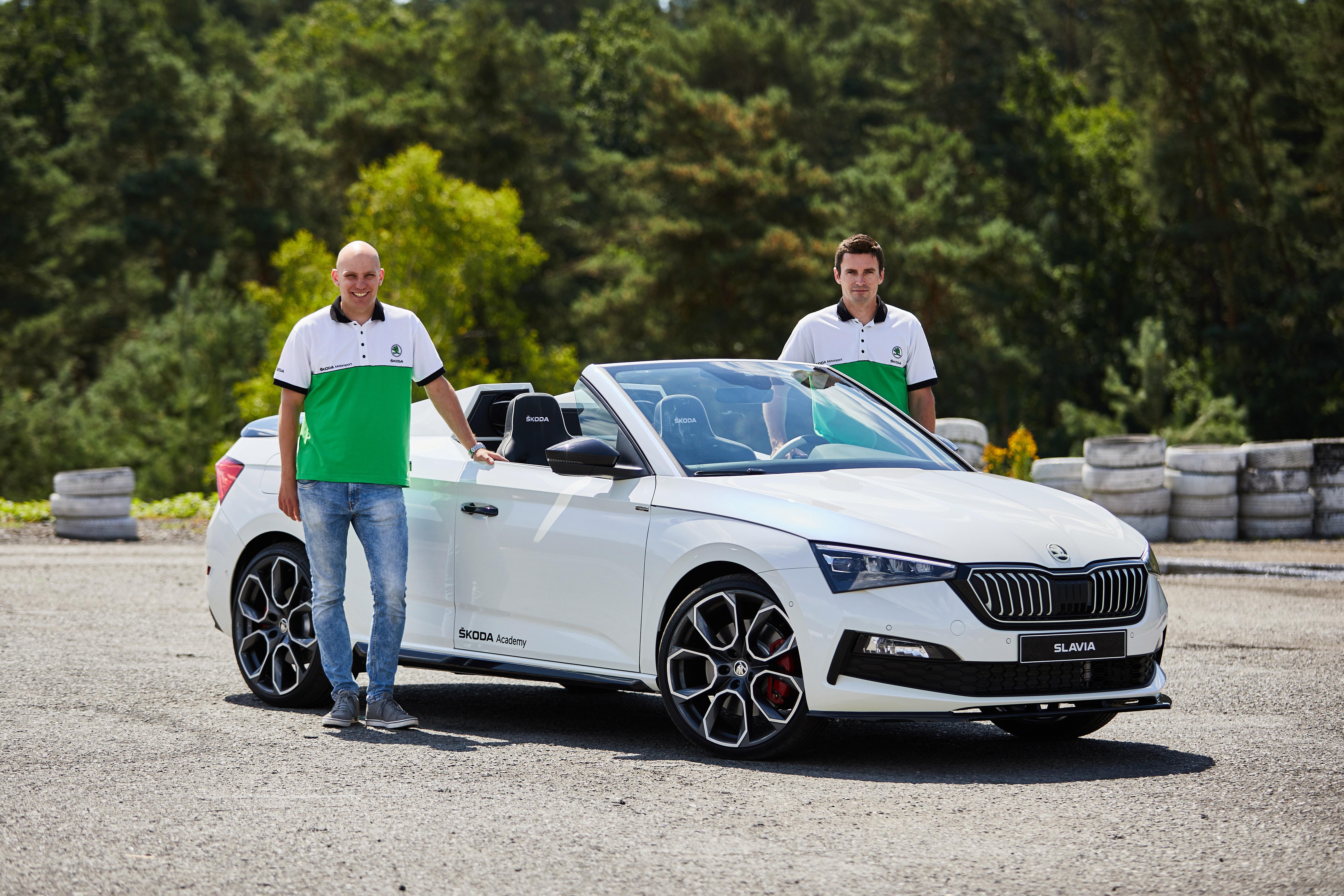 SKODA SLAVIA endurance test: Student Car 2020 impresses rally professionals Jan Kopecký and Jan Hlousek - Image 1