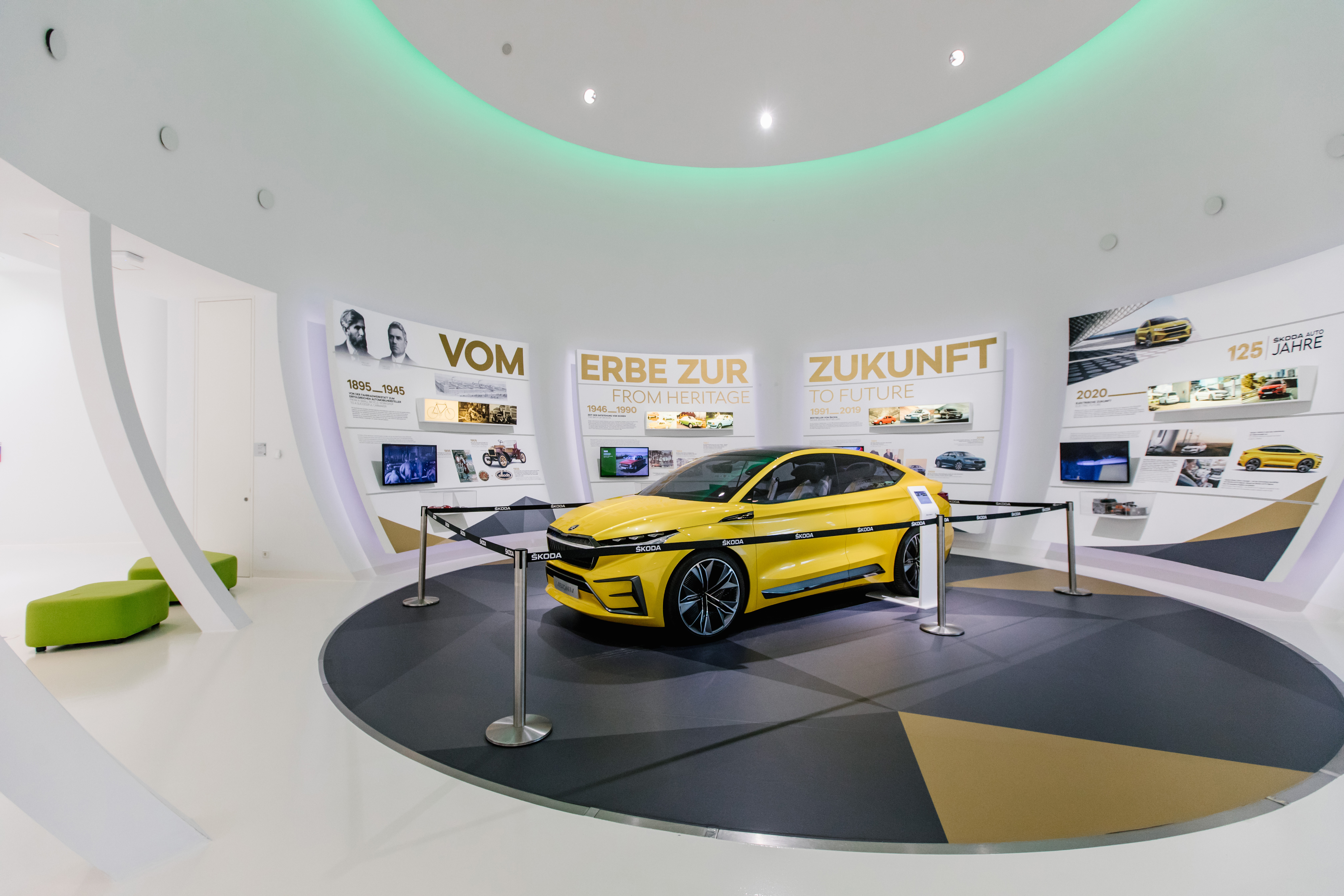 125 years of SKODA: Special exhibition at Autostadt - Image 3