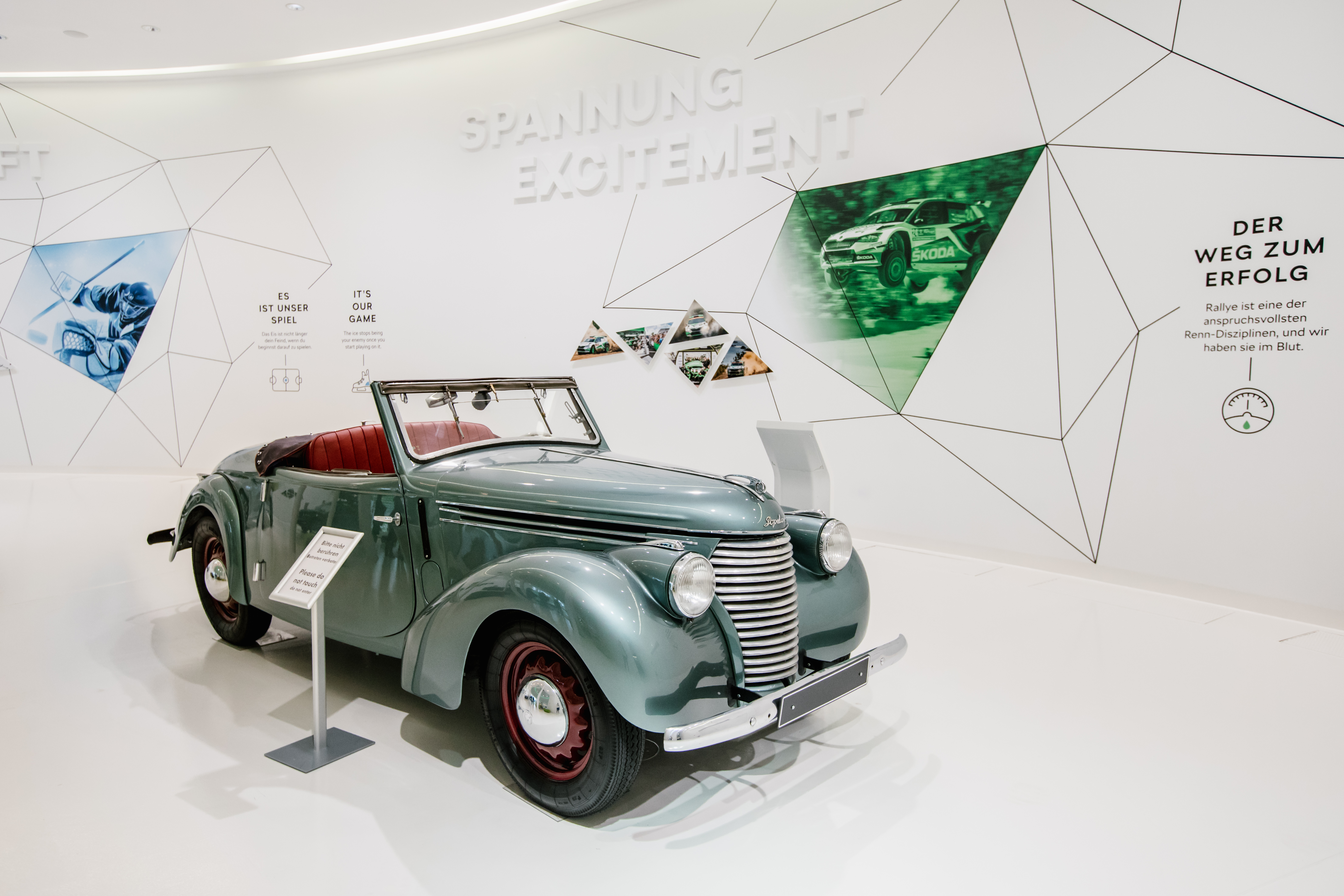 125 years of SKODA: Special exhibition at Autostadt - Image 2