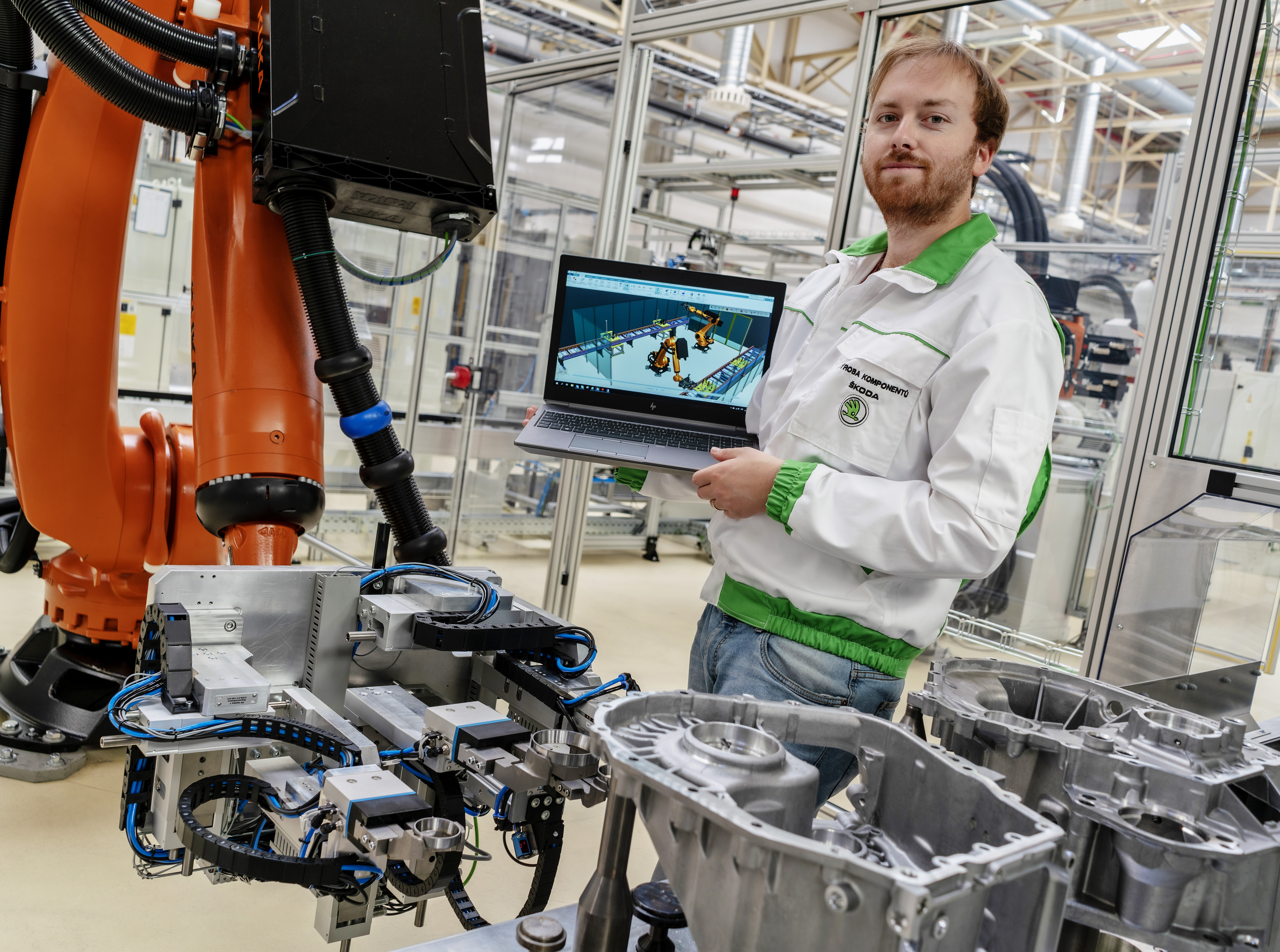 Industry 4.0: SKODA AUTO Vrchlabí plant has made use of 'Digital twin' - Image 1