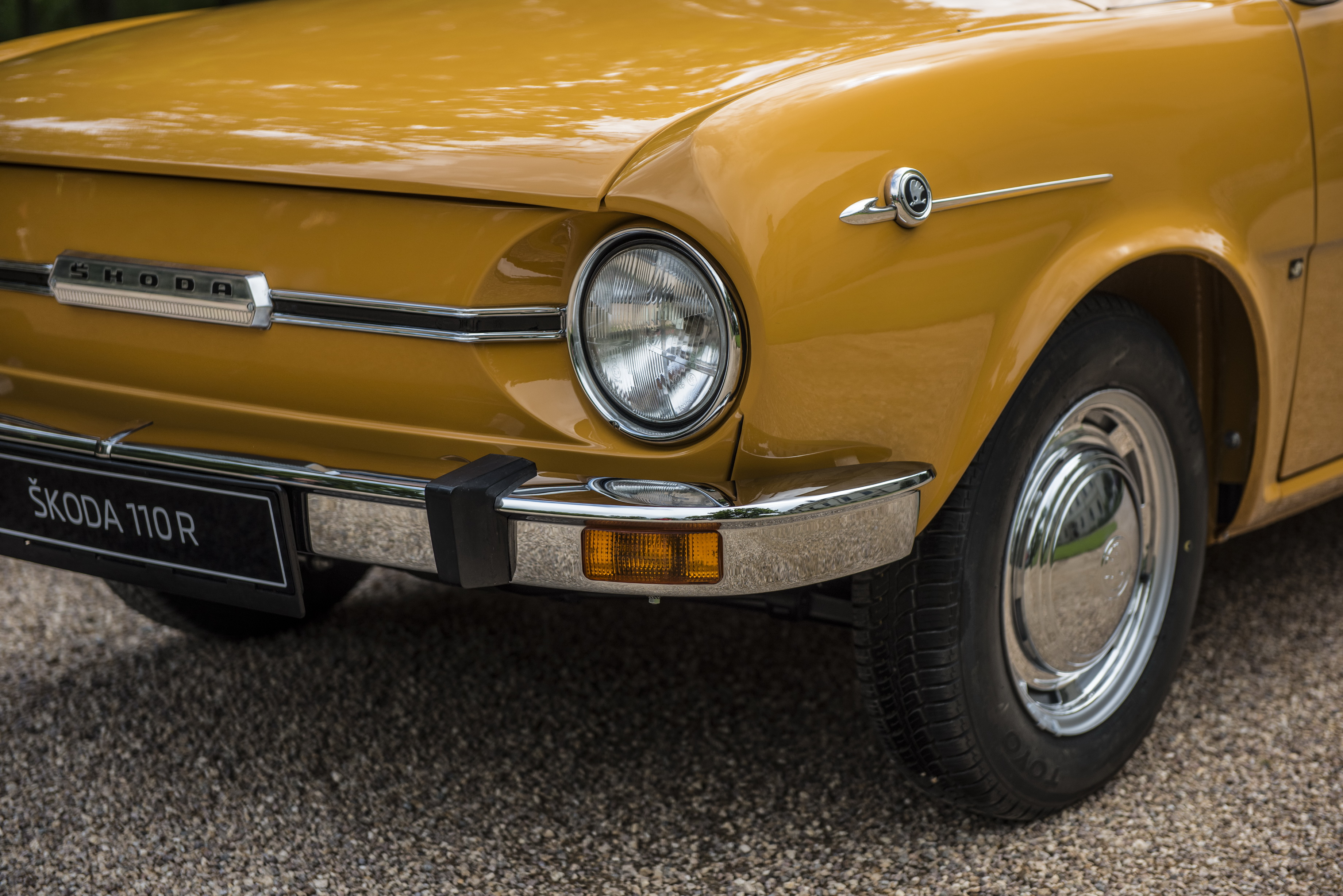 50 years of the 110 R: Half a century ago, SKODA presented its legendary sports coupé - Image 3