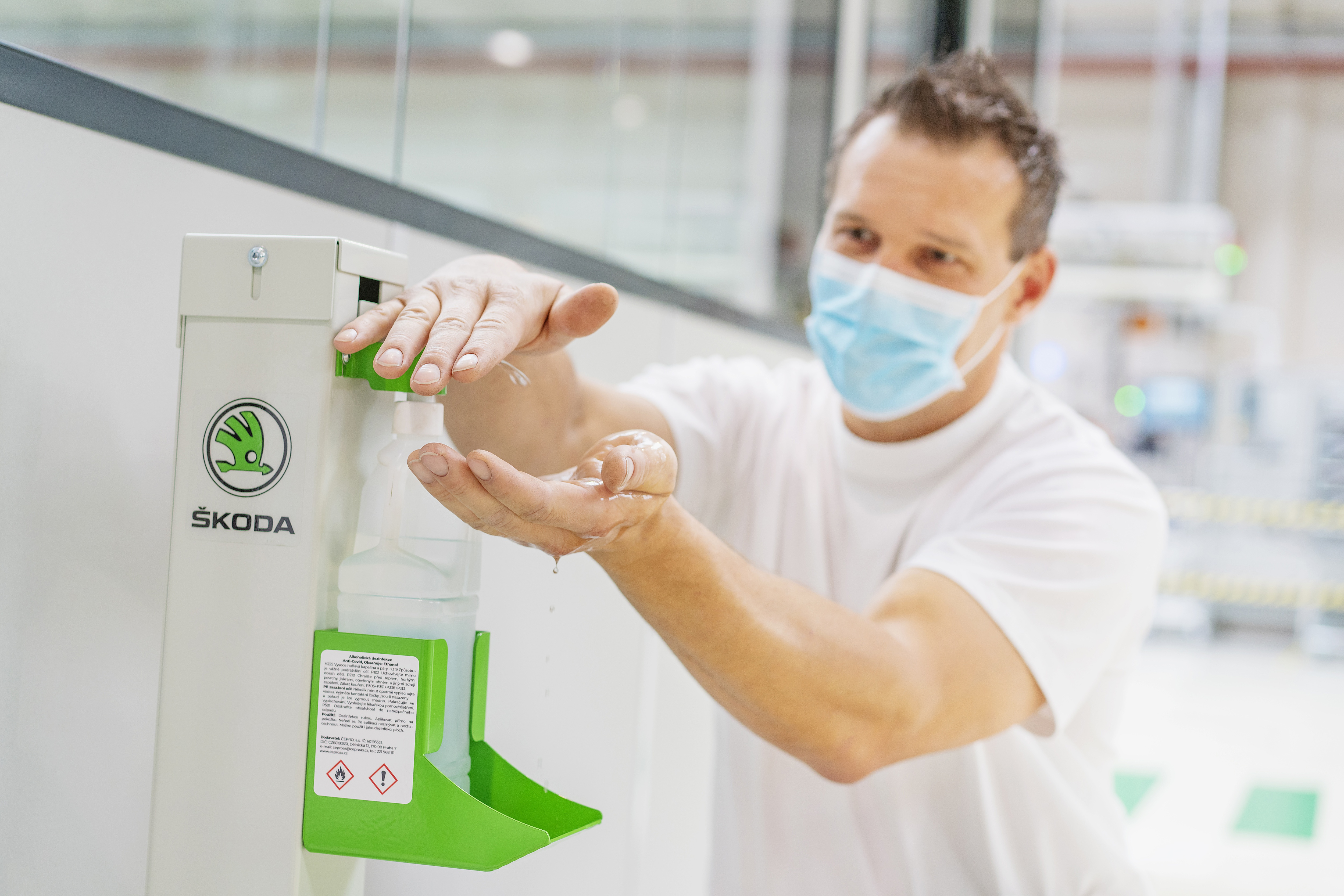 SKODA AUTO takes further precautions to prevent potential COVID-19 infections - Image 1