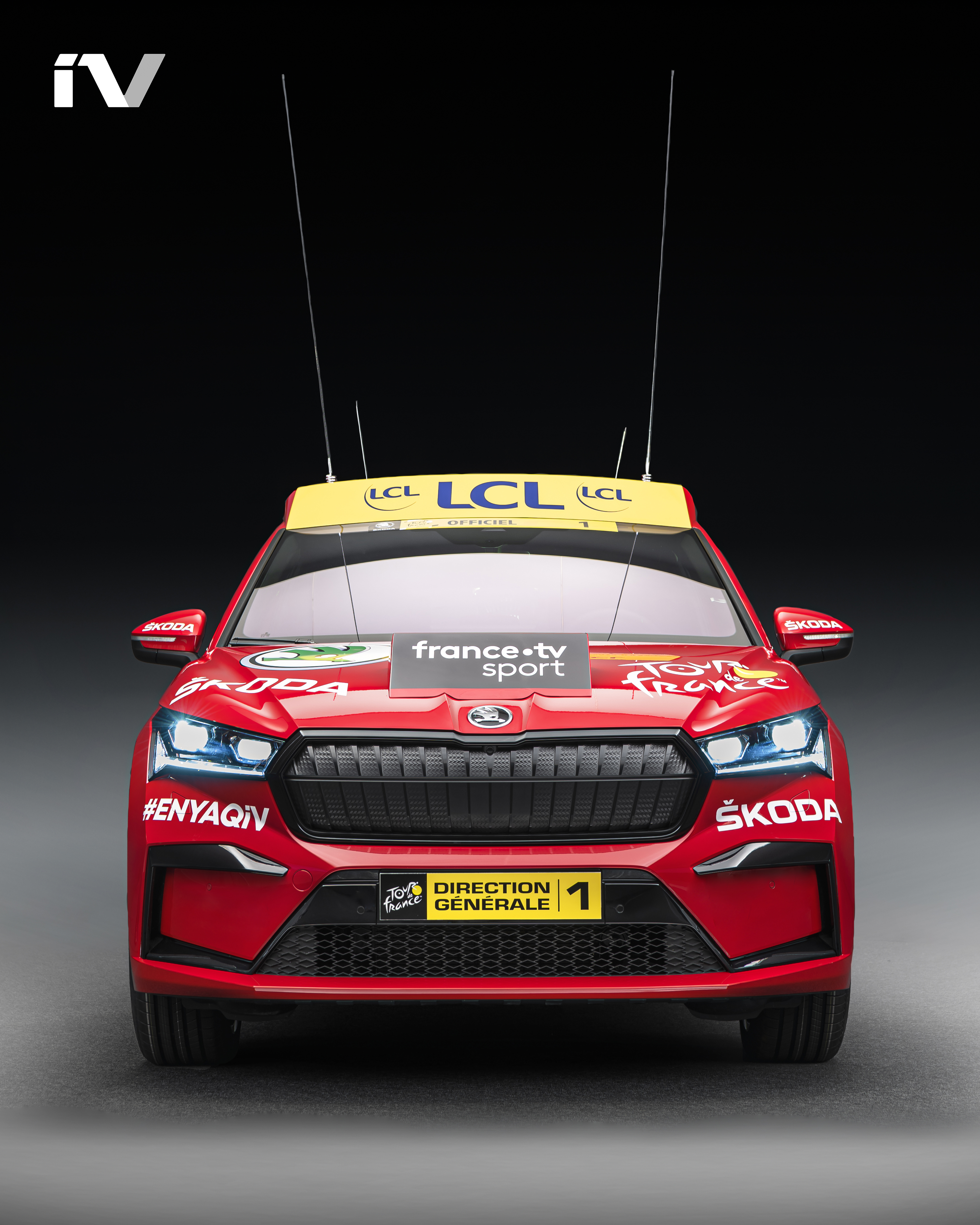 SKODA ENYAQ iV makes its debut as the lead vehicle in the Tour de France - Image 2
