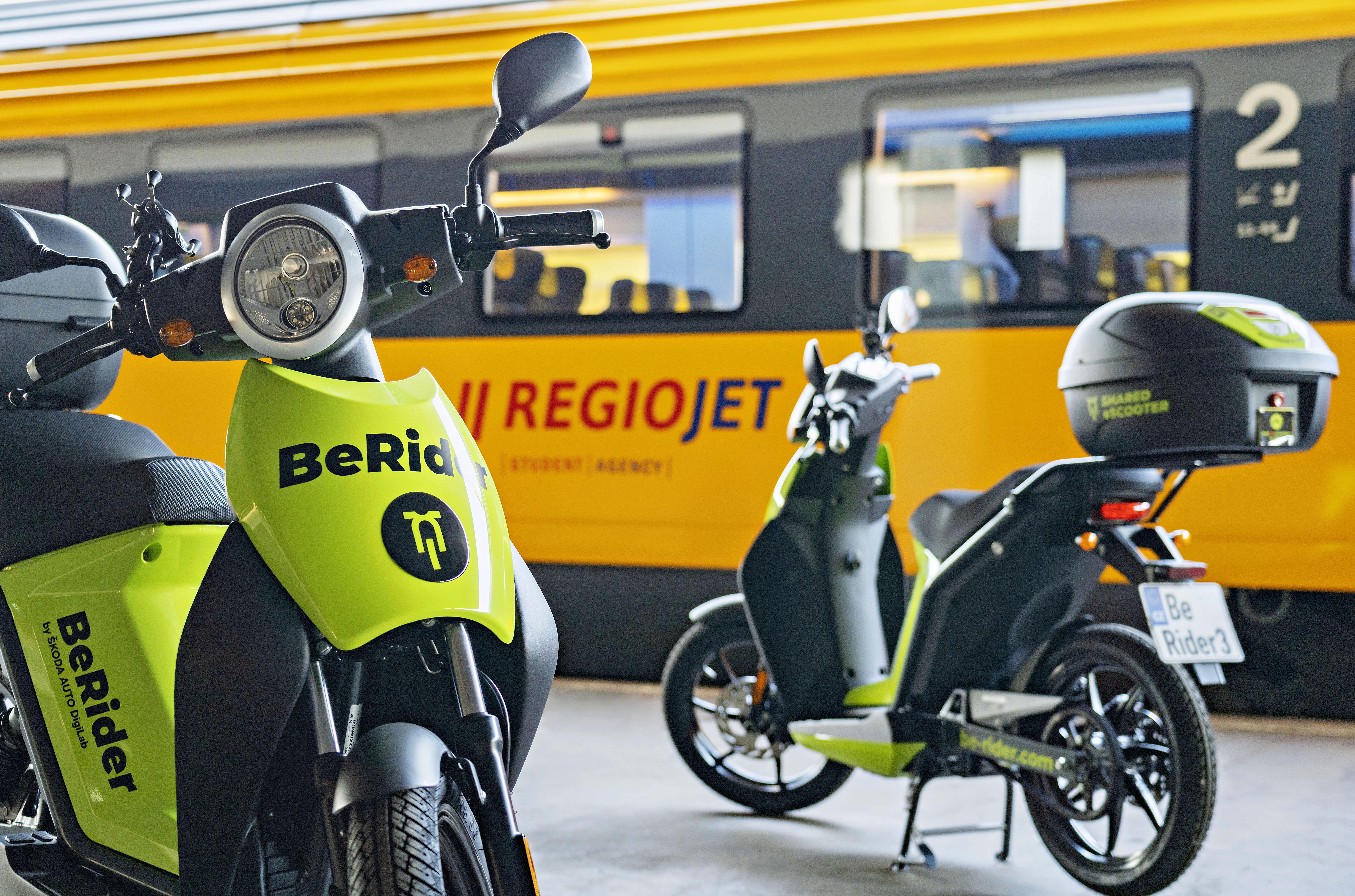 SKODA AUTO DigiLab and transport company RegioJet enter into all-embracing partnership - Image 1