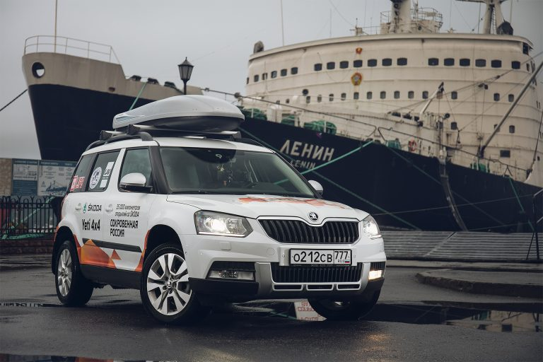 ŠKODA YETI Expedition in Russia