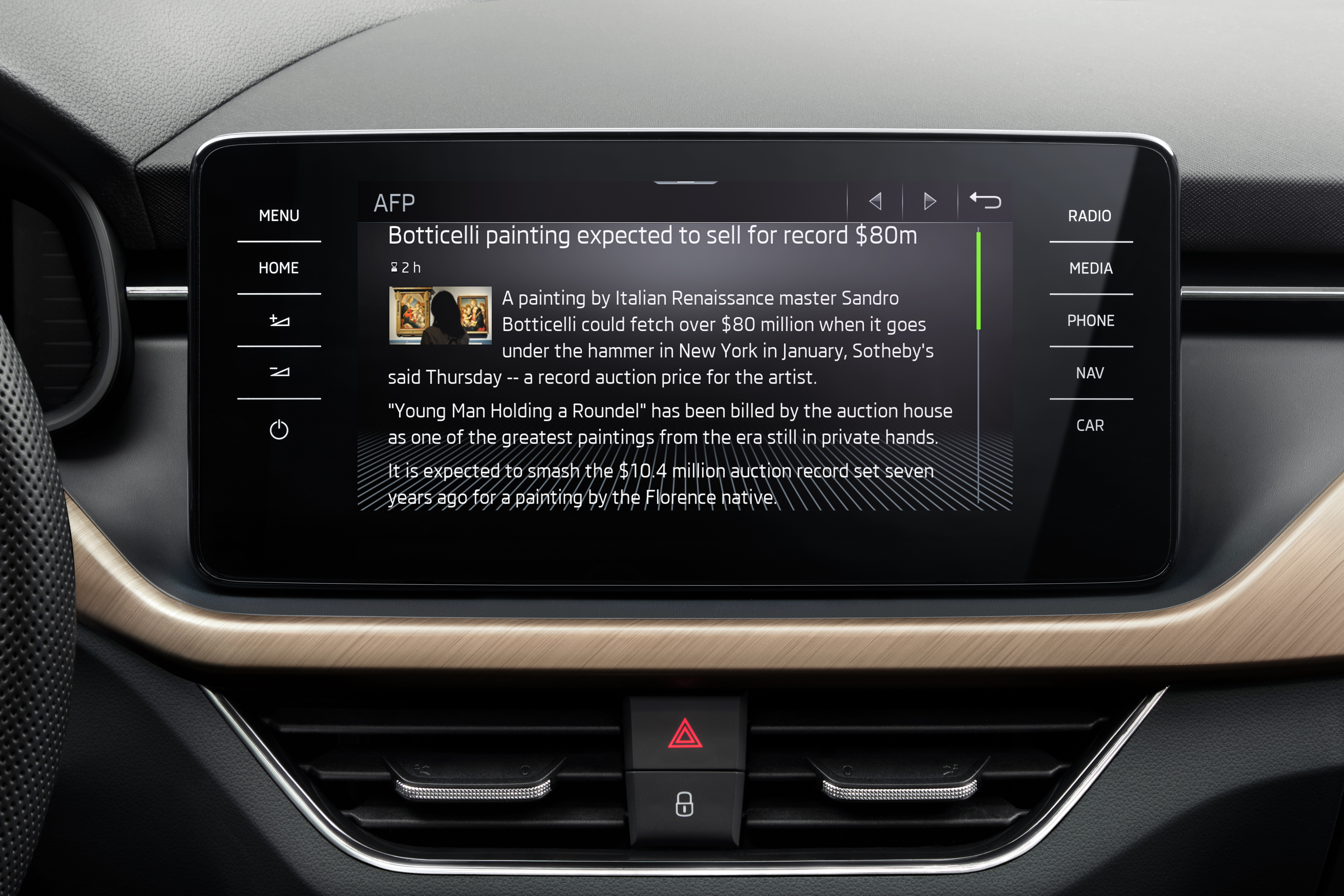 For weather and news: SKODA launches Infotainment Apps in SCALA, KAMIQ, KAROQ, KODIAQ and SUPERB - Image 1