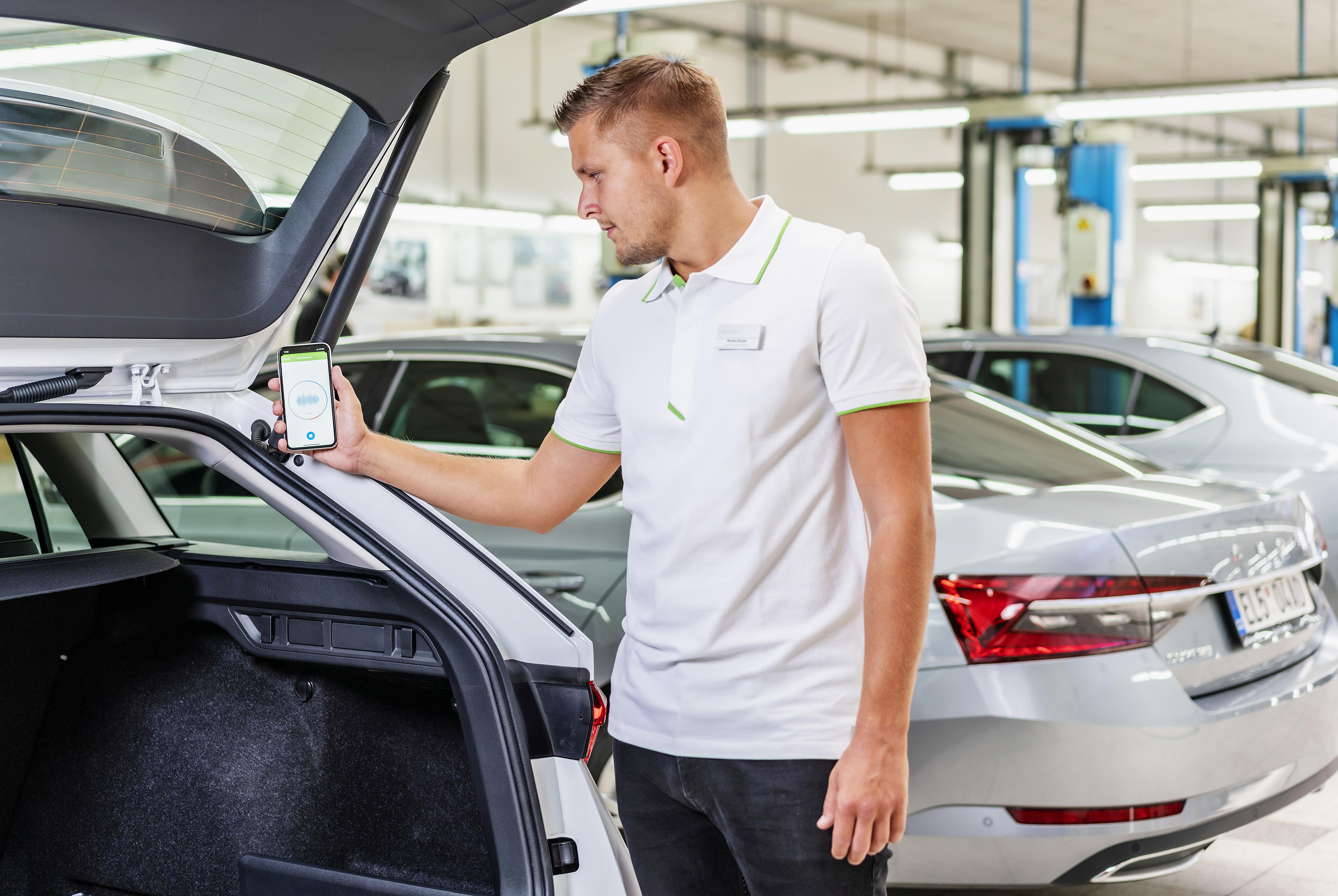 SKODA AUTO uses artificial intelligence for even more accurate car diagnostics - Image 3