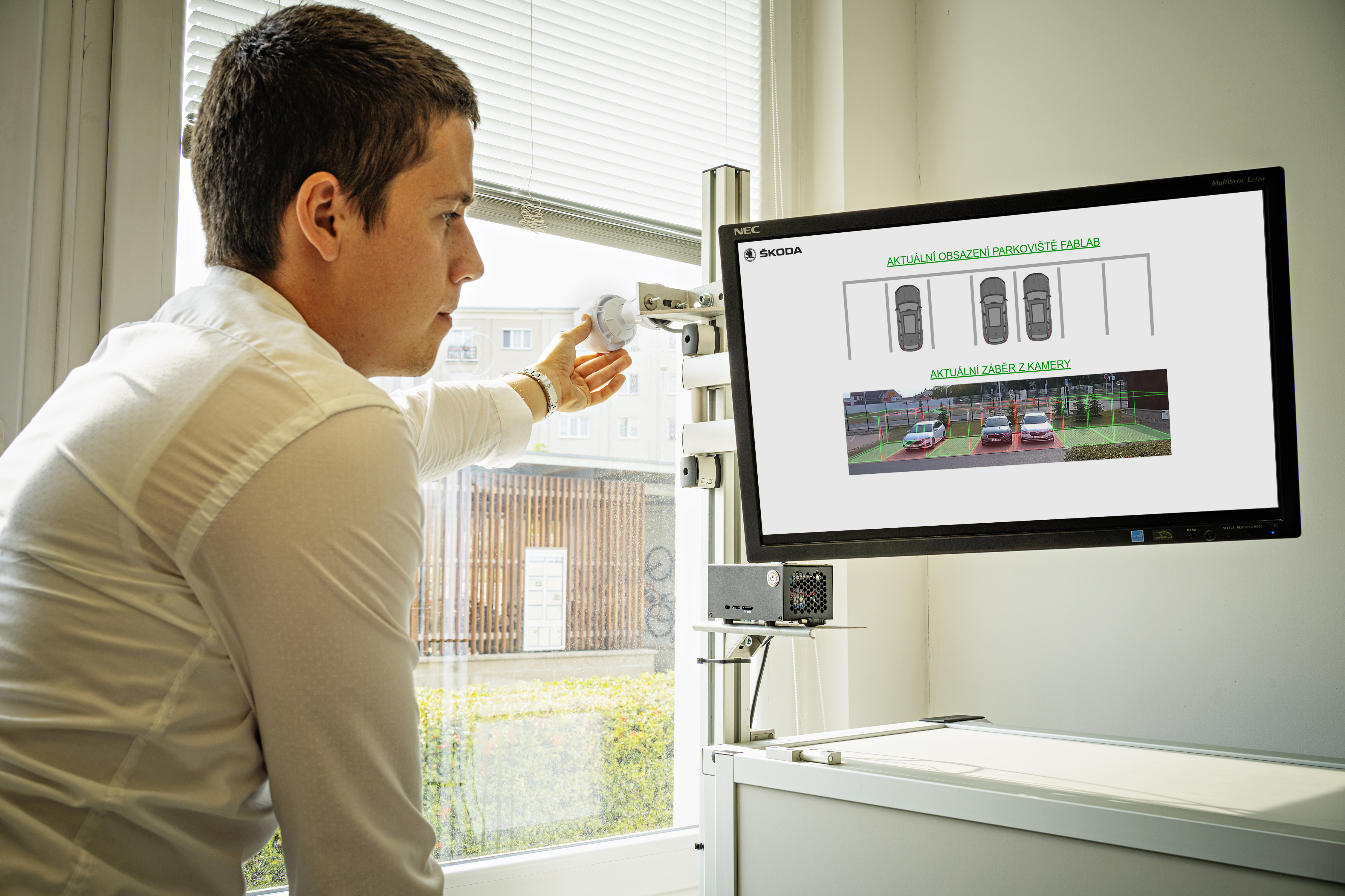 SKODA FabLab tests and optimises image analysis technology as part of an AI pilot project - Image 1