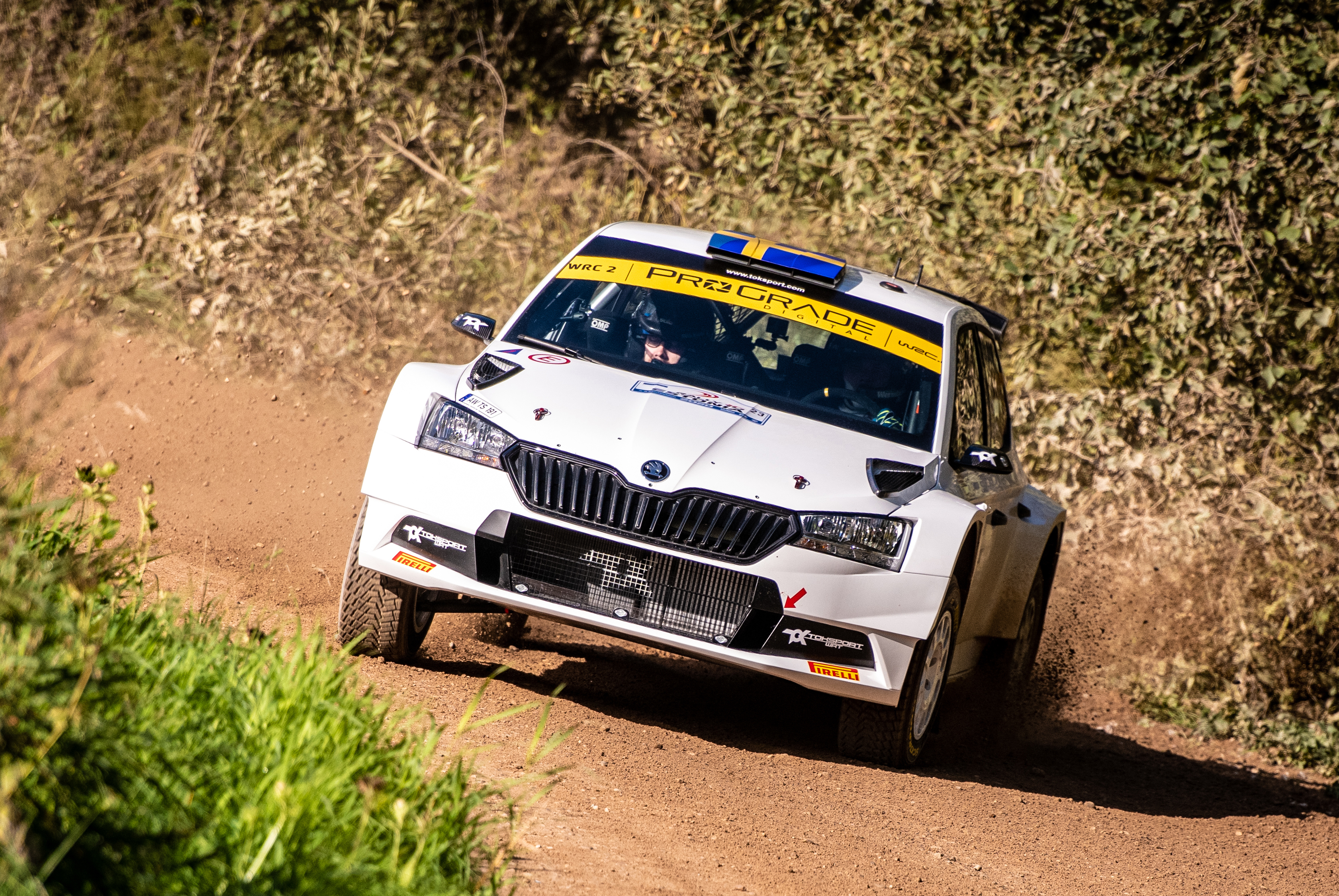 Rally Italia Sardegna: SKODA privateers fight for victories in WRC2 and WRC3 - Image 2