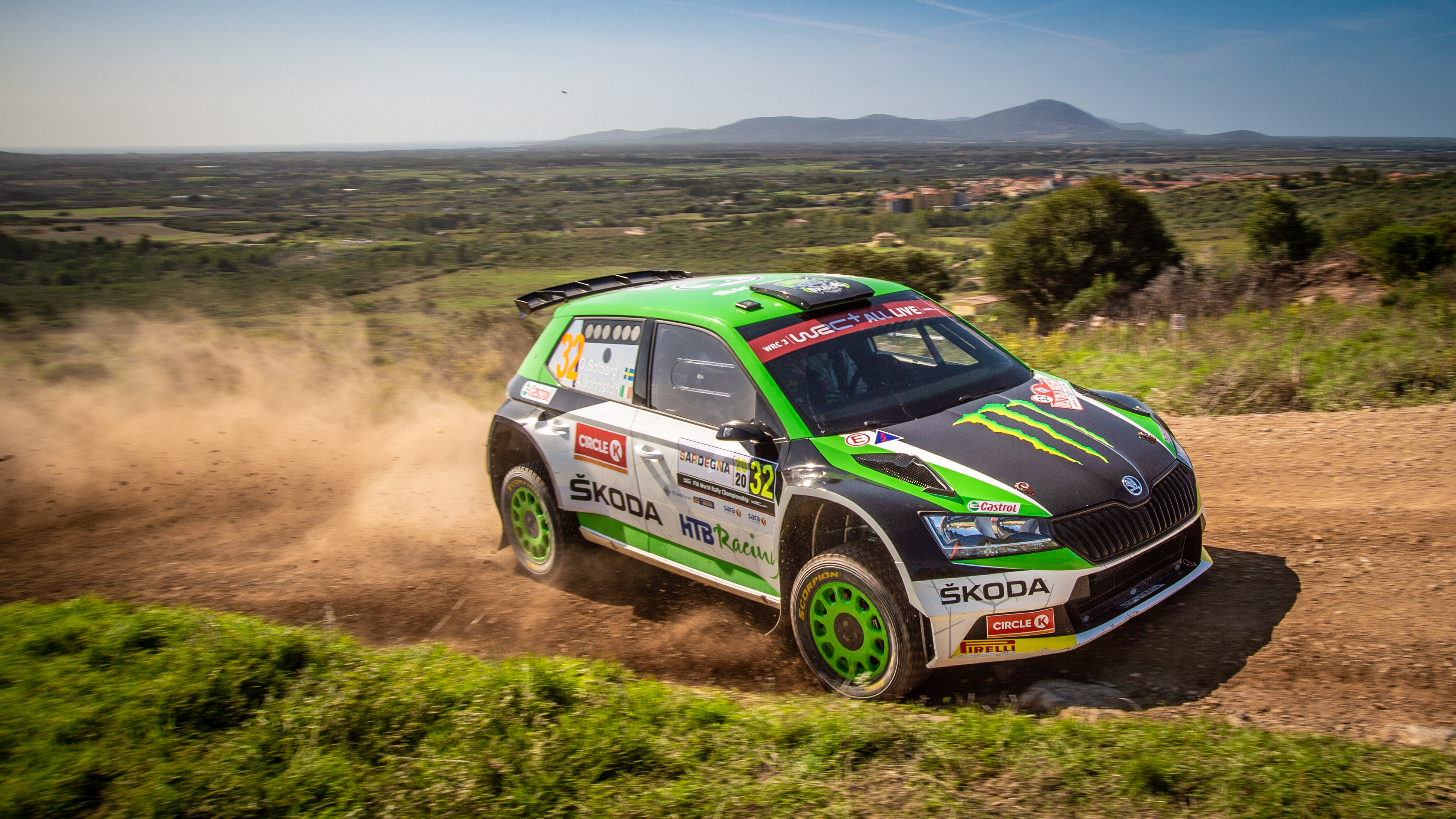 Rally Italia Sardegna: Two SKODA crews on top of WRC2 and WRC3 after tough first leg - Image 5