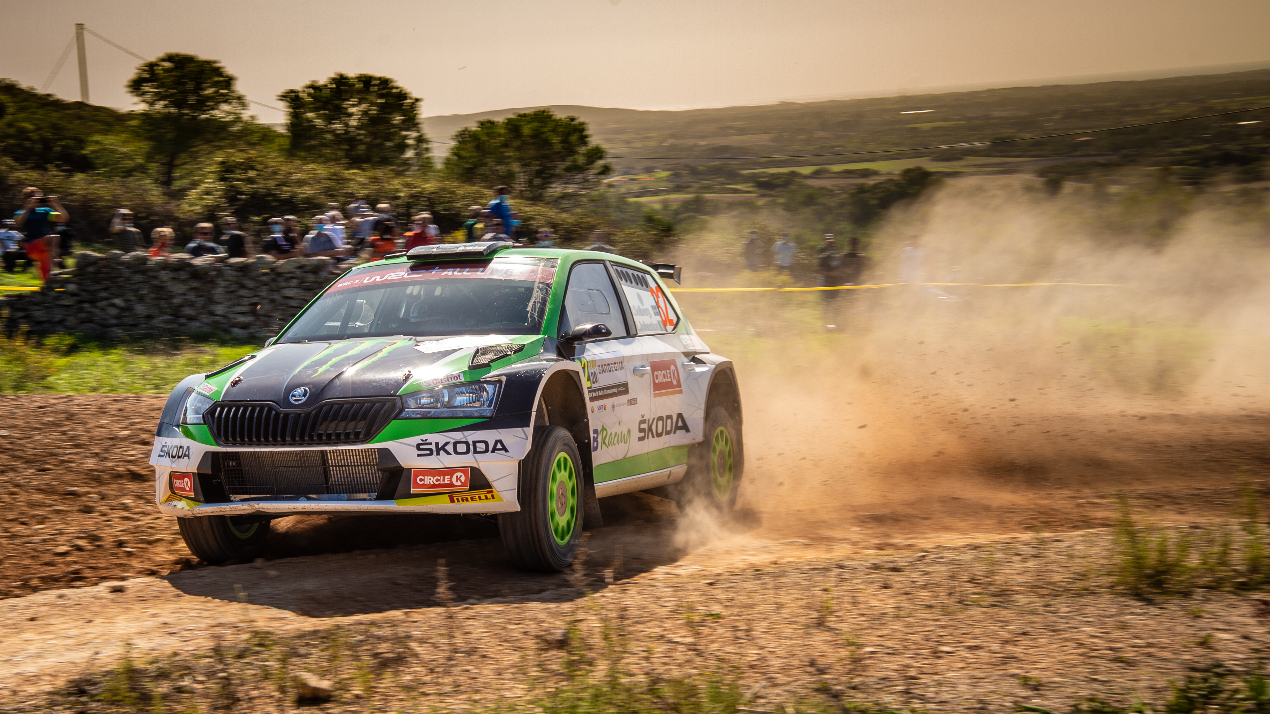 Rally Italia Sardegna: Two SKODA crews on top of WRC2 and WRC3 after tough first leg - Image 4