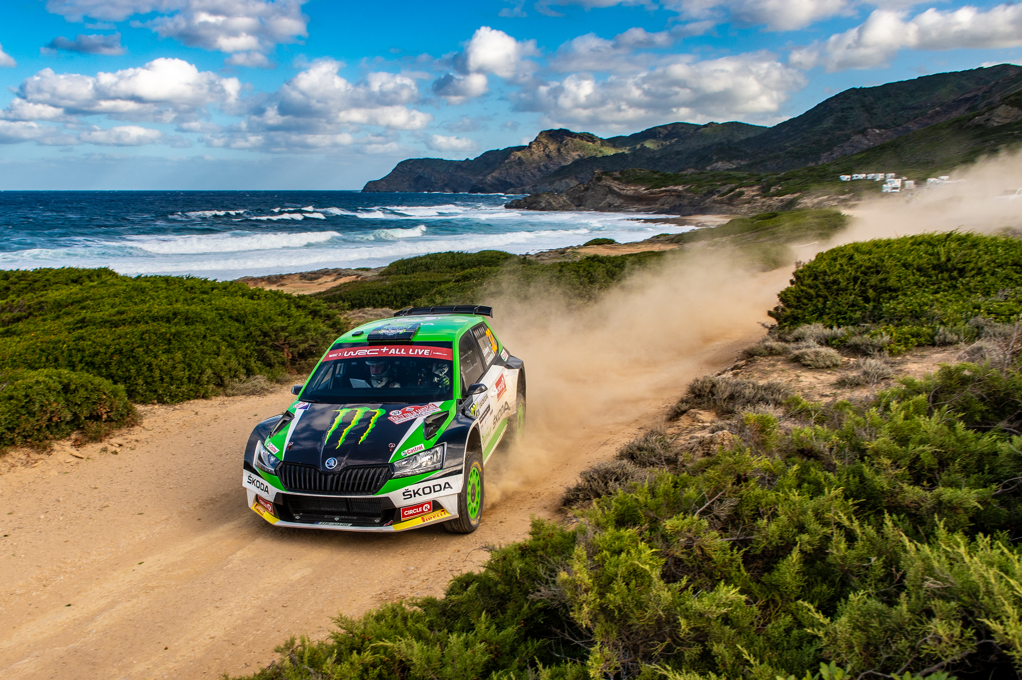 Rally Italia Sardegna: SKODA privateer Pontus Tidemand wins WRC2 and extends overall lead - Image 1