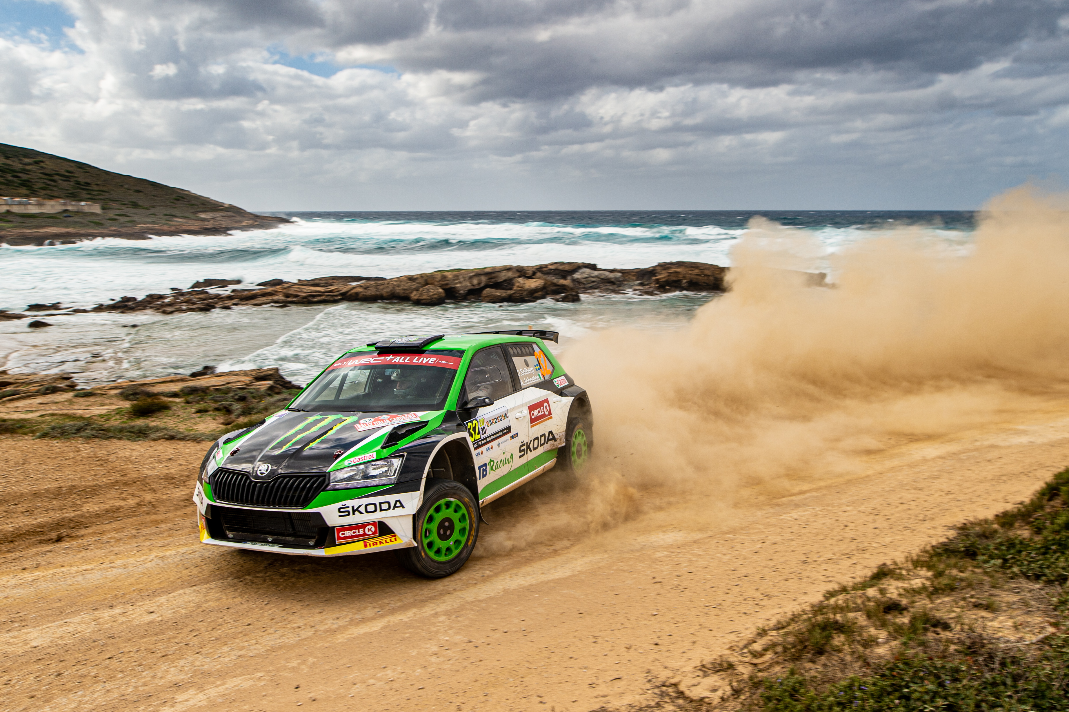Rally Italia Sardegna: SKODA privateer Pontus Tidemand wins WRC2 and extends overall lead - Image 2