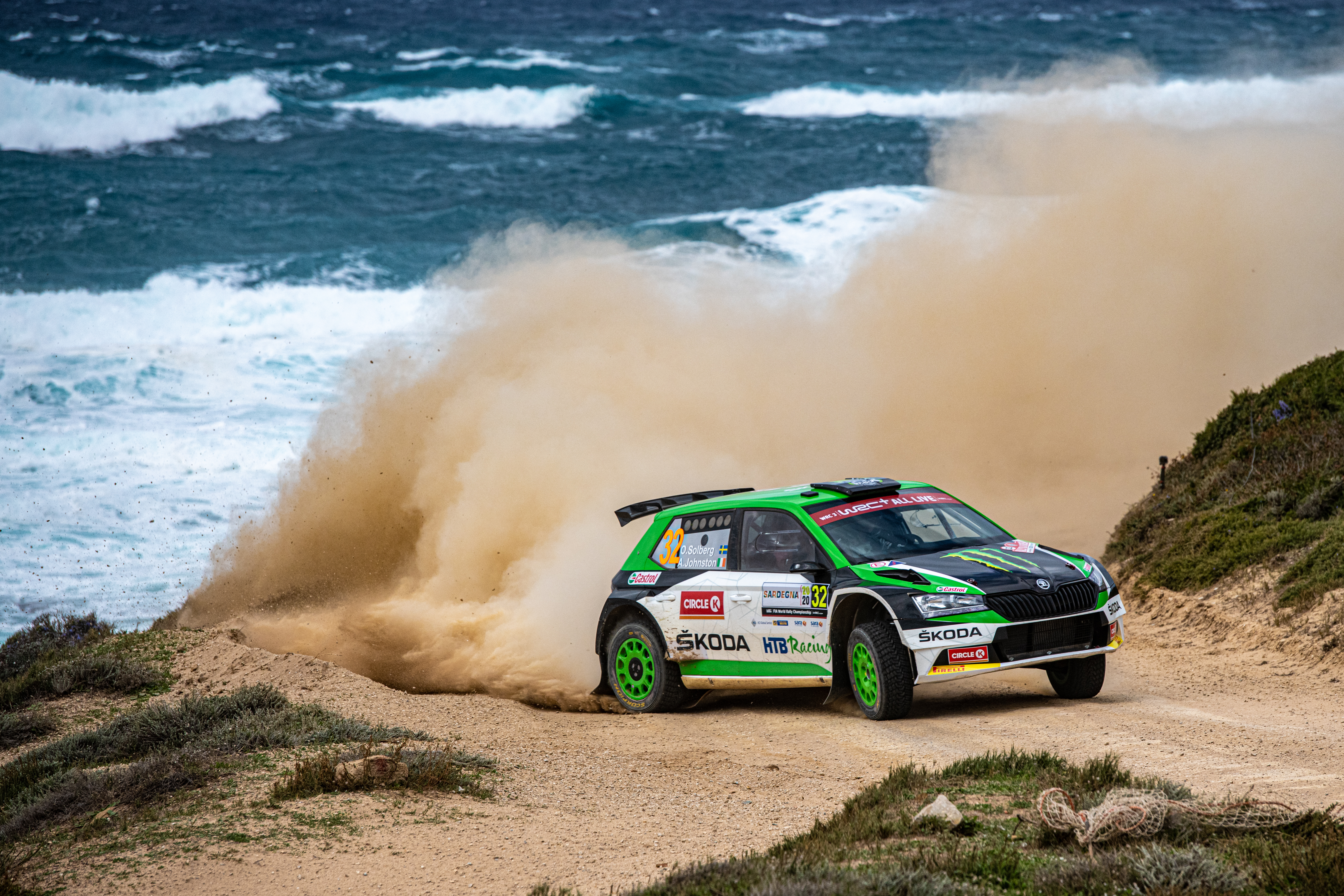 Rally Italia Sardegna: SKODA privateer Pontus Tidemand wins WRC2 and extends overall lead - Image 3