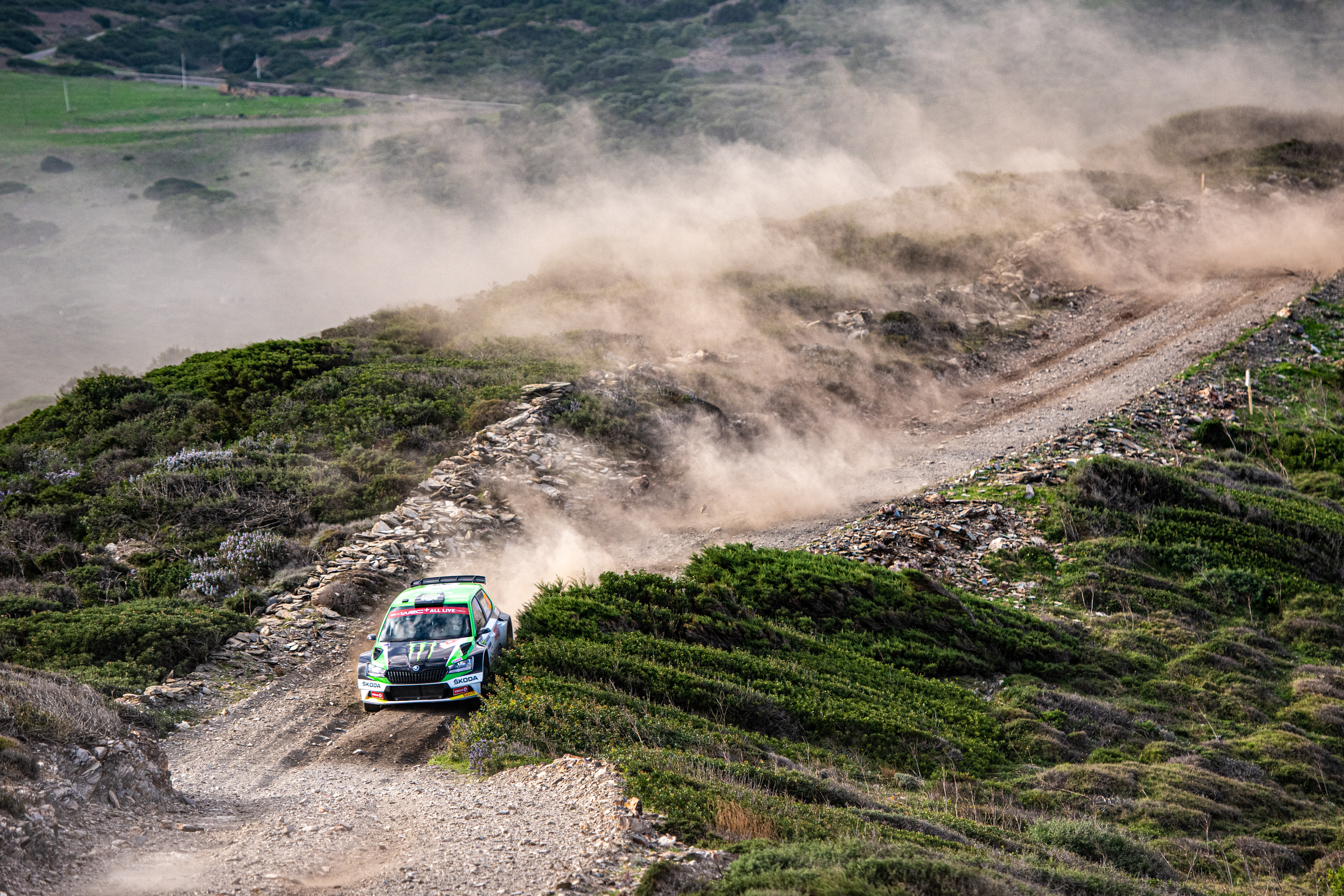 Rally Italia Sardegna: SKODA privateer Pontus Tidemand wins WRC2 and extends overall lead - Image 4