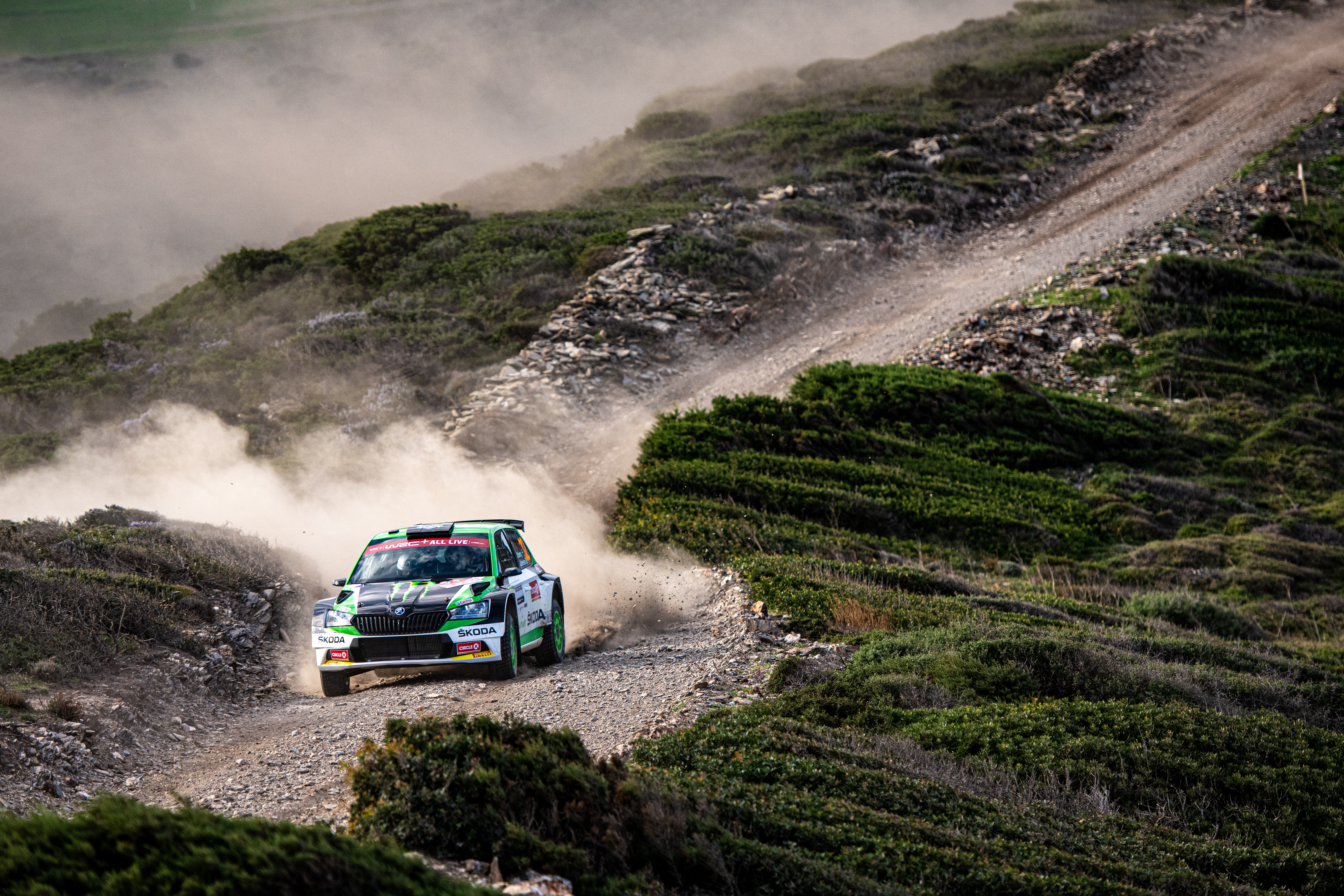 Rally Italia Sardegna: SKODA privateer Pontus Tidemand wins WRC2 and extends overall lead - Image 5