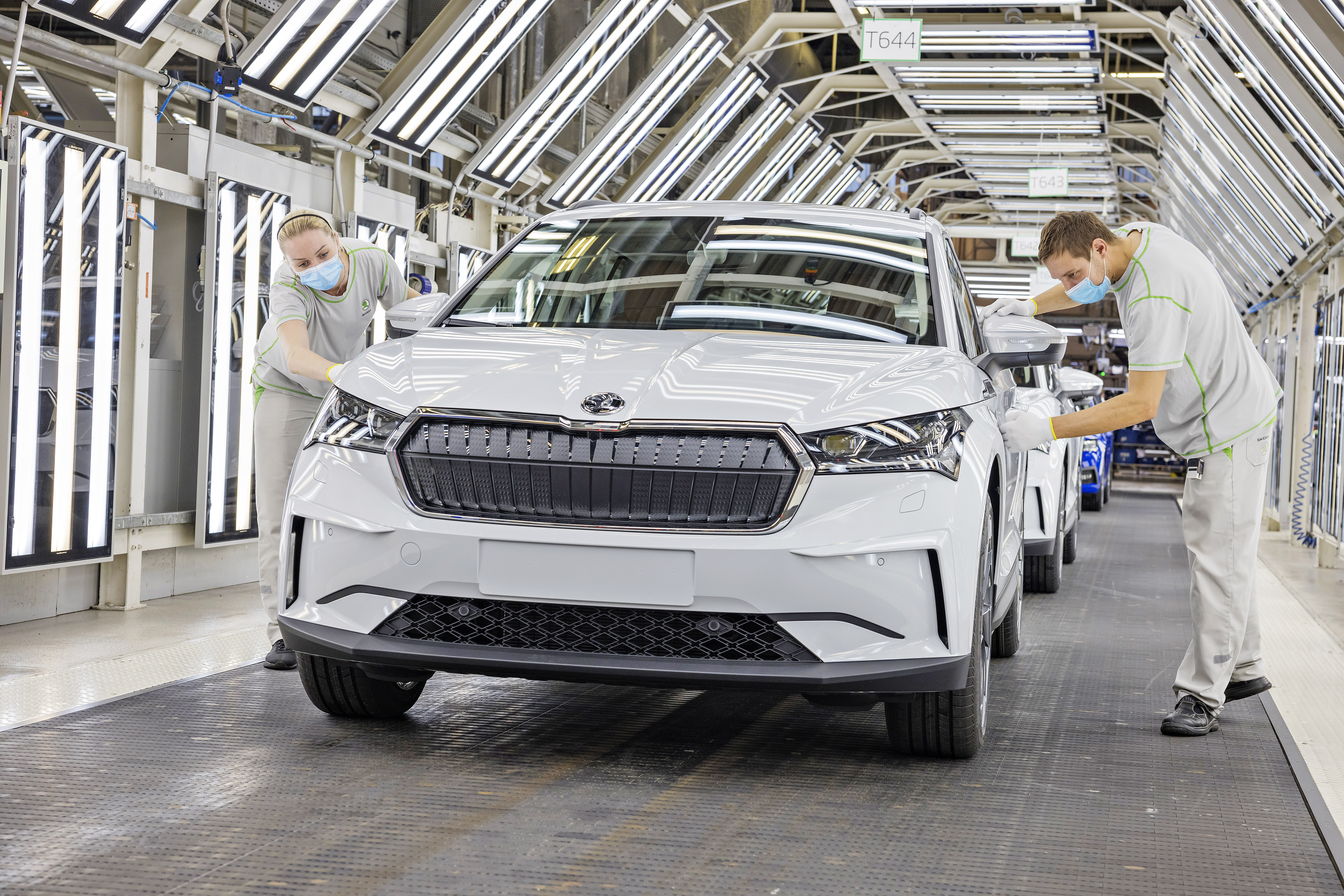 SKODA AUTO launches series production of the ENYAQ iV at its main plant in Mladá Boleslav - Image 2