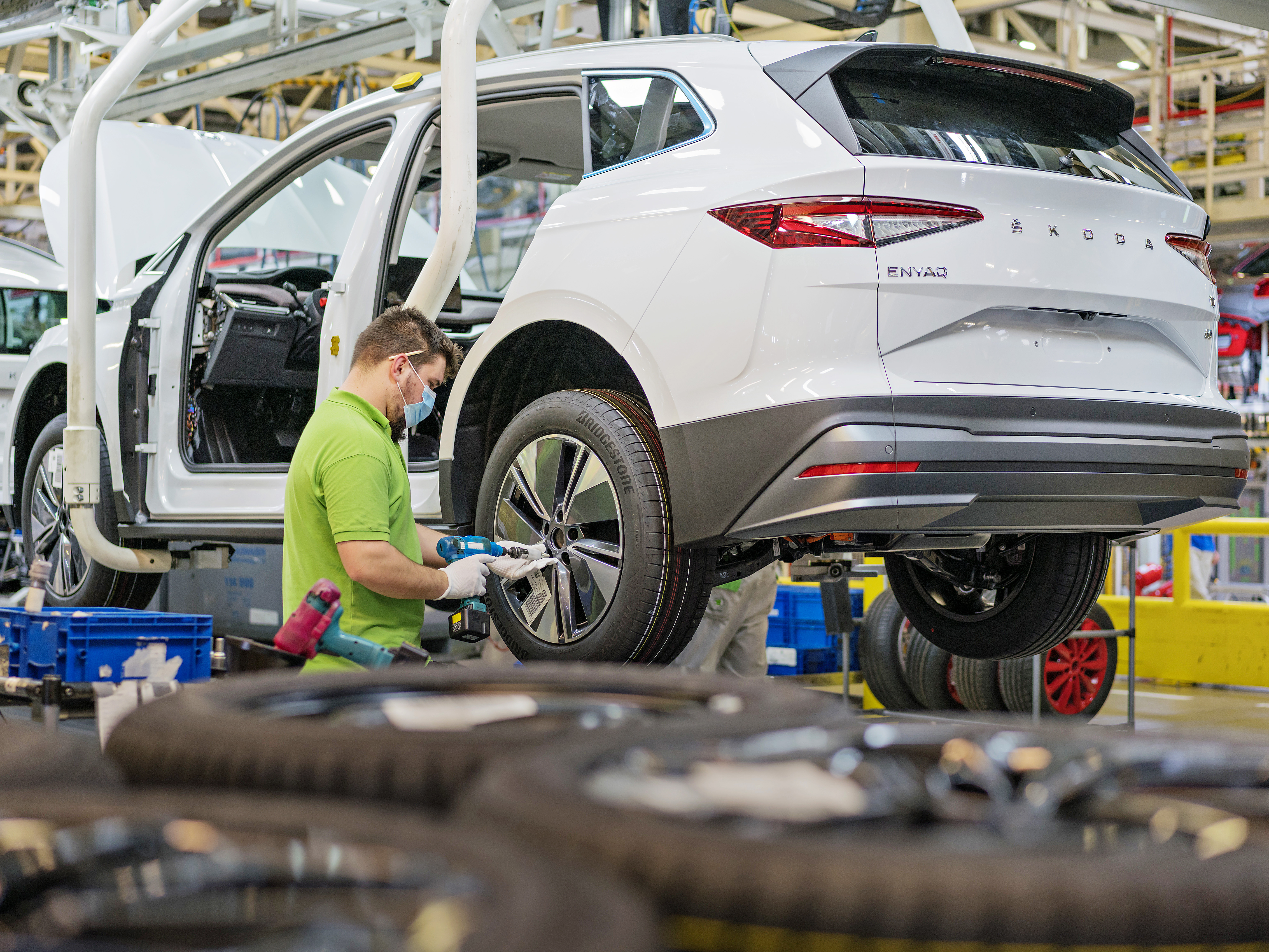 SKODA AUTO launches series production of the ENYAQ iV at its main plant in Mladá Boleslav - Image 1