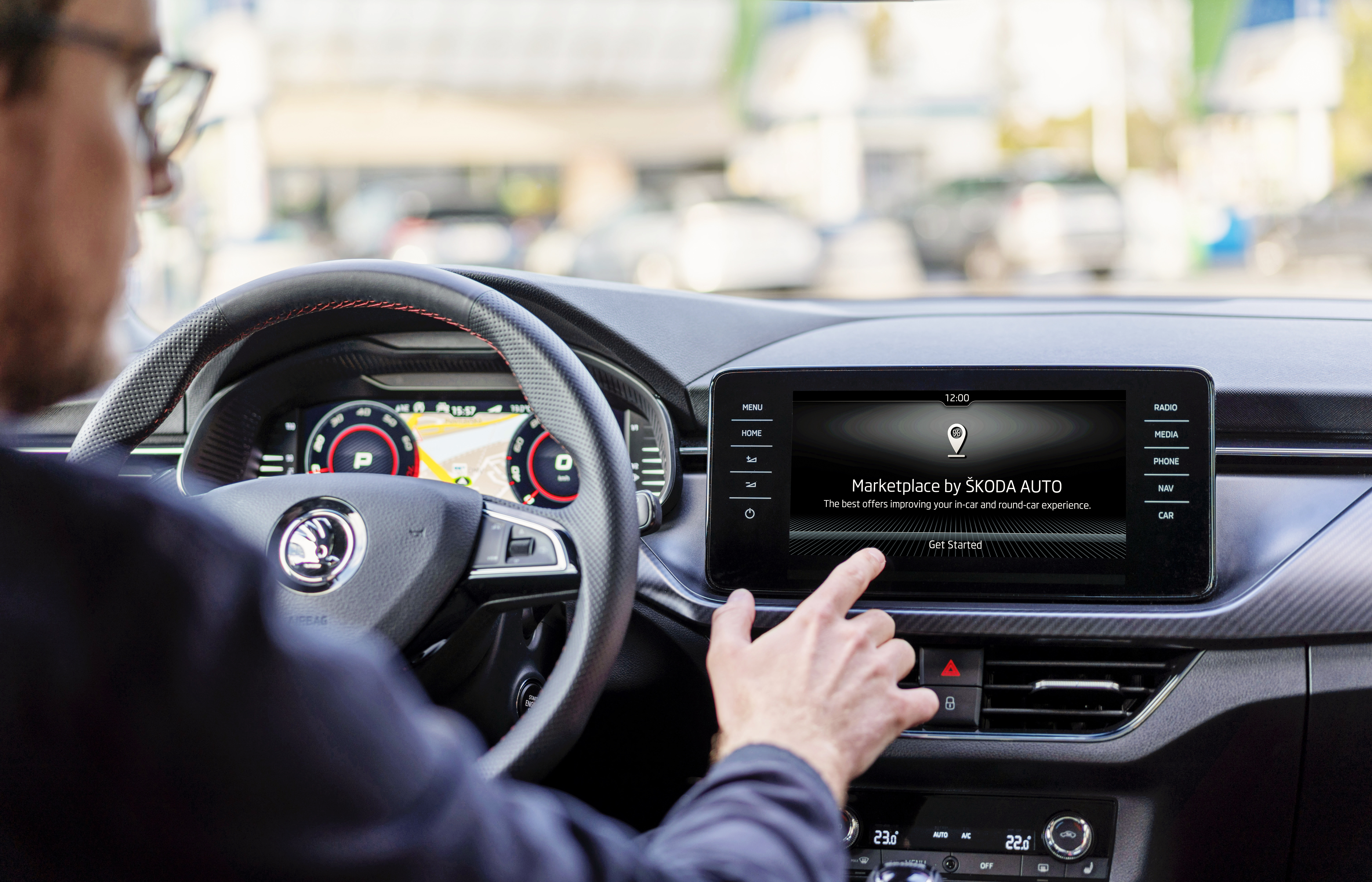 SKODA AUTO adds location-based offers to its range of connectivity services - Image 4