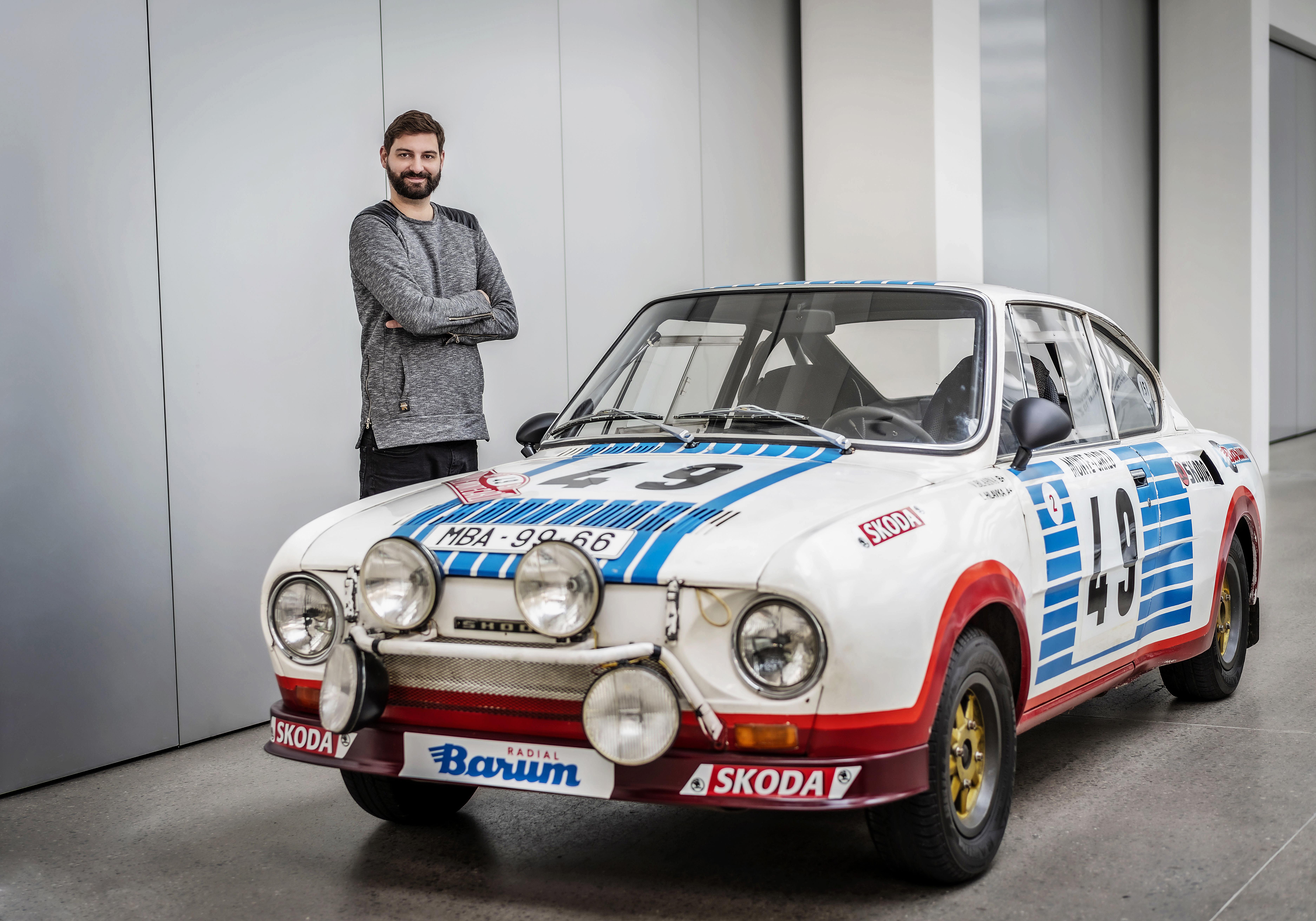 Škoda Auto, design, Škoda 130 RS, studie, Aymeric Chertier