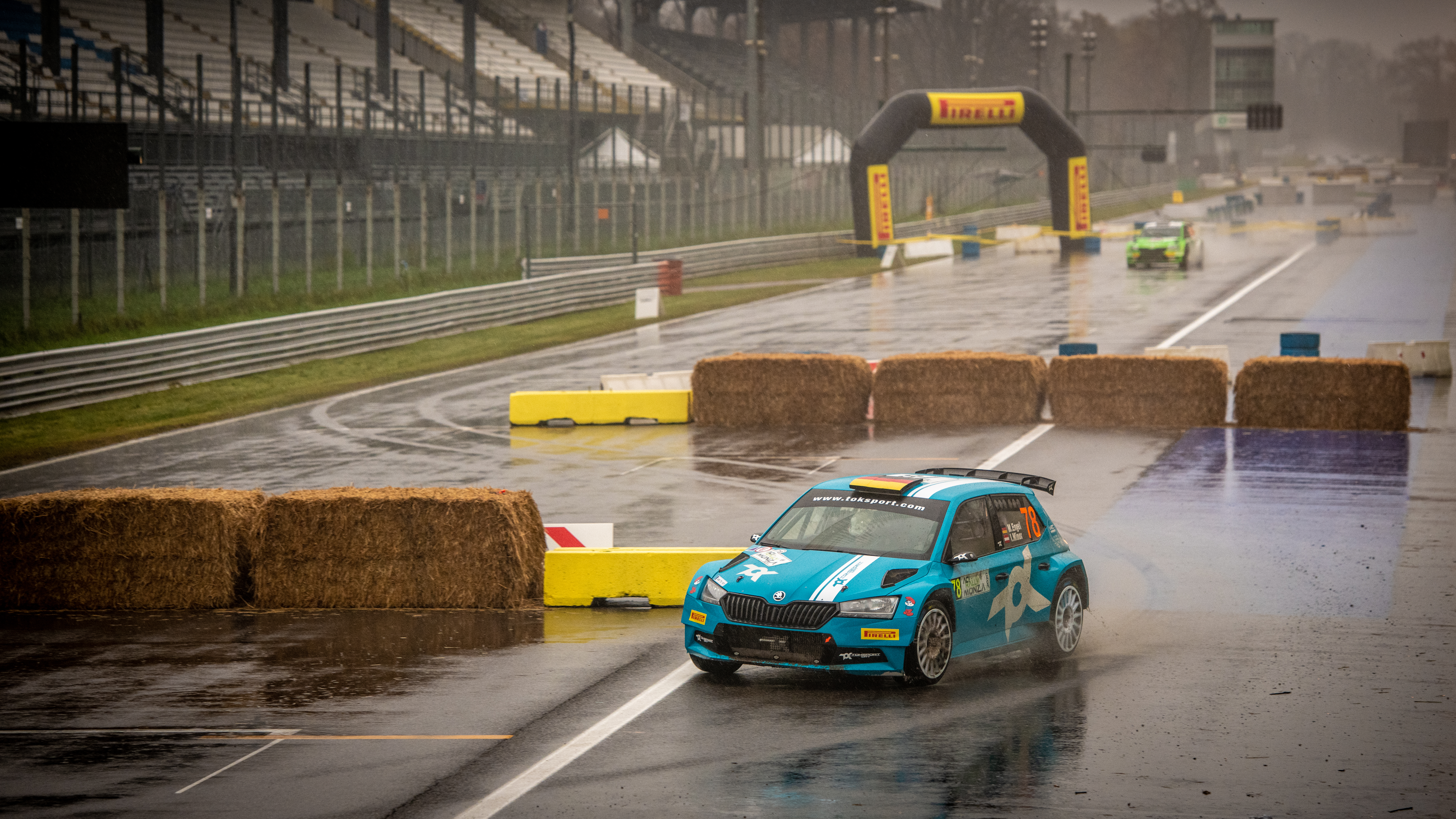 ACI Rally Monza: Clever tactics pays off as SKODA crews lead WRC2 and WRC3 after first leg - Image 7