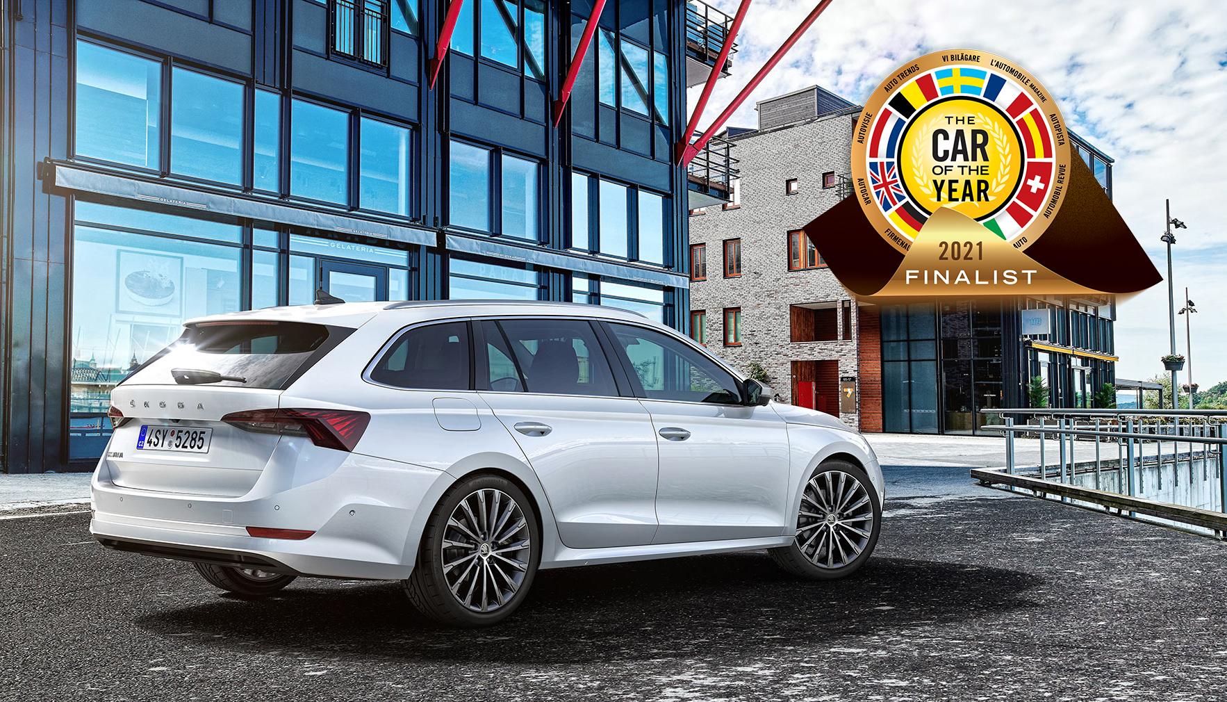 "SKODA OCTAVIA nominated for ""2021 Car of the Year"" award - Image 1"