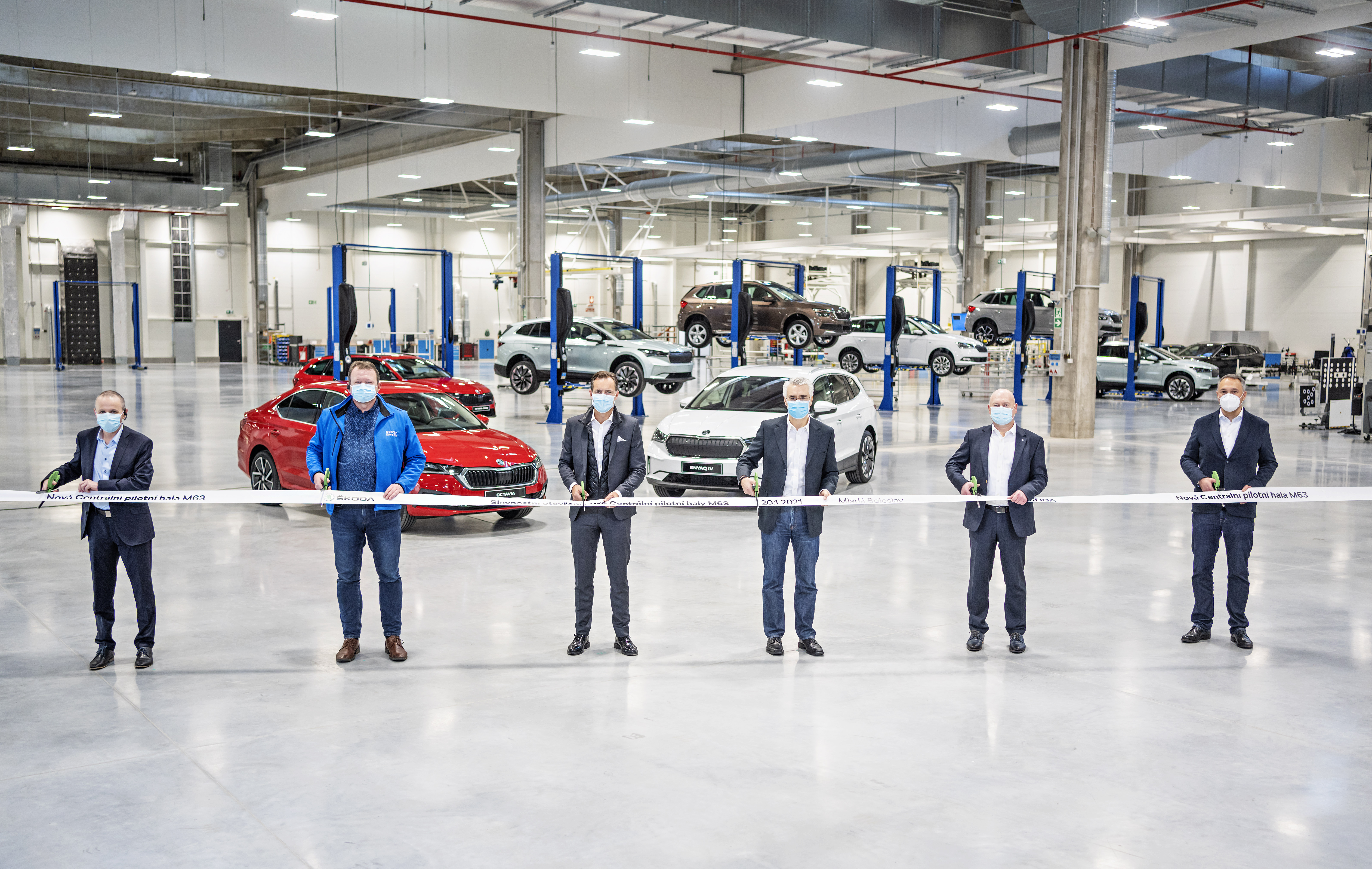 SKODA AUTO opens state-of-the-art new Central Pilot Hall at its Mladá Boleslav site - Image 3