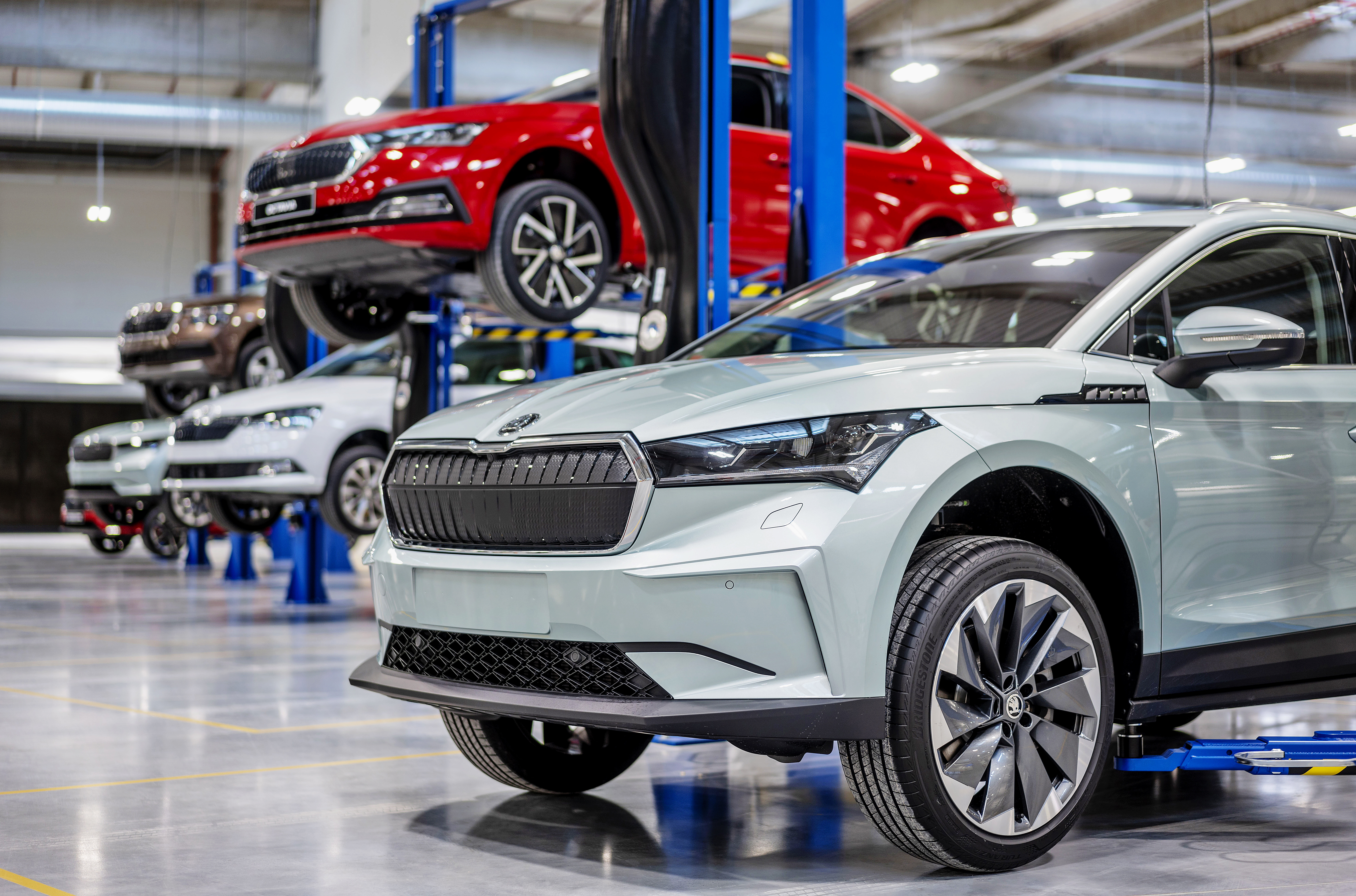 SKODA AUTO opens state-of-the-art new Central Pilot Hall at its Mladá Boleslav site - Image 1